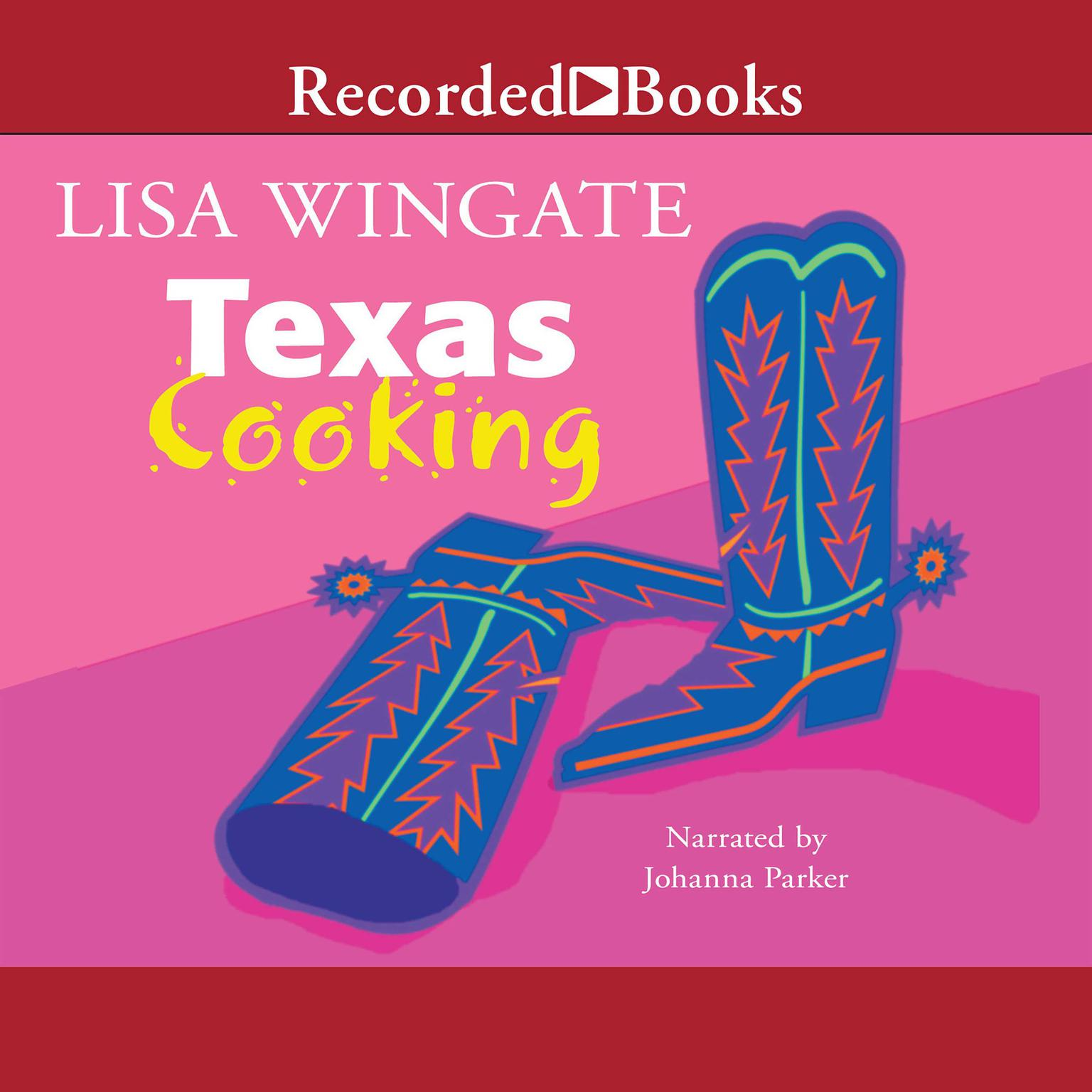 Printable Texas Cooking Audiobook Cover Art