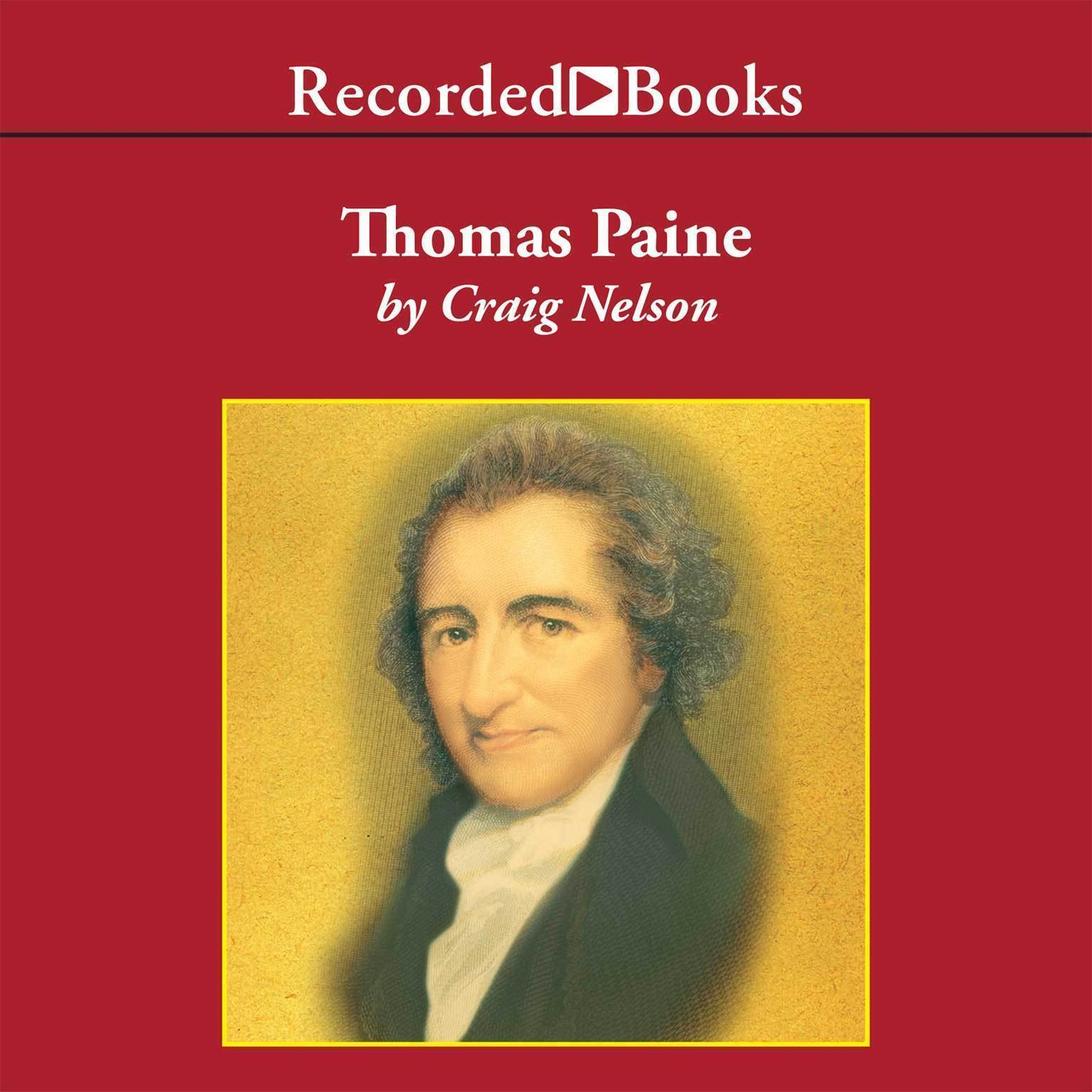 Printable Thomas Paine: Enlightenment, Revolution, and the Birth of the Modern Nations Audiobook Cover Art