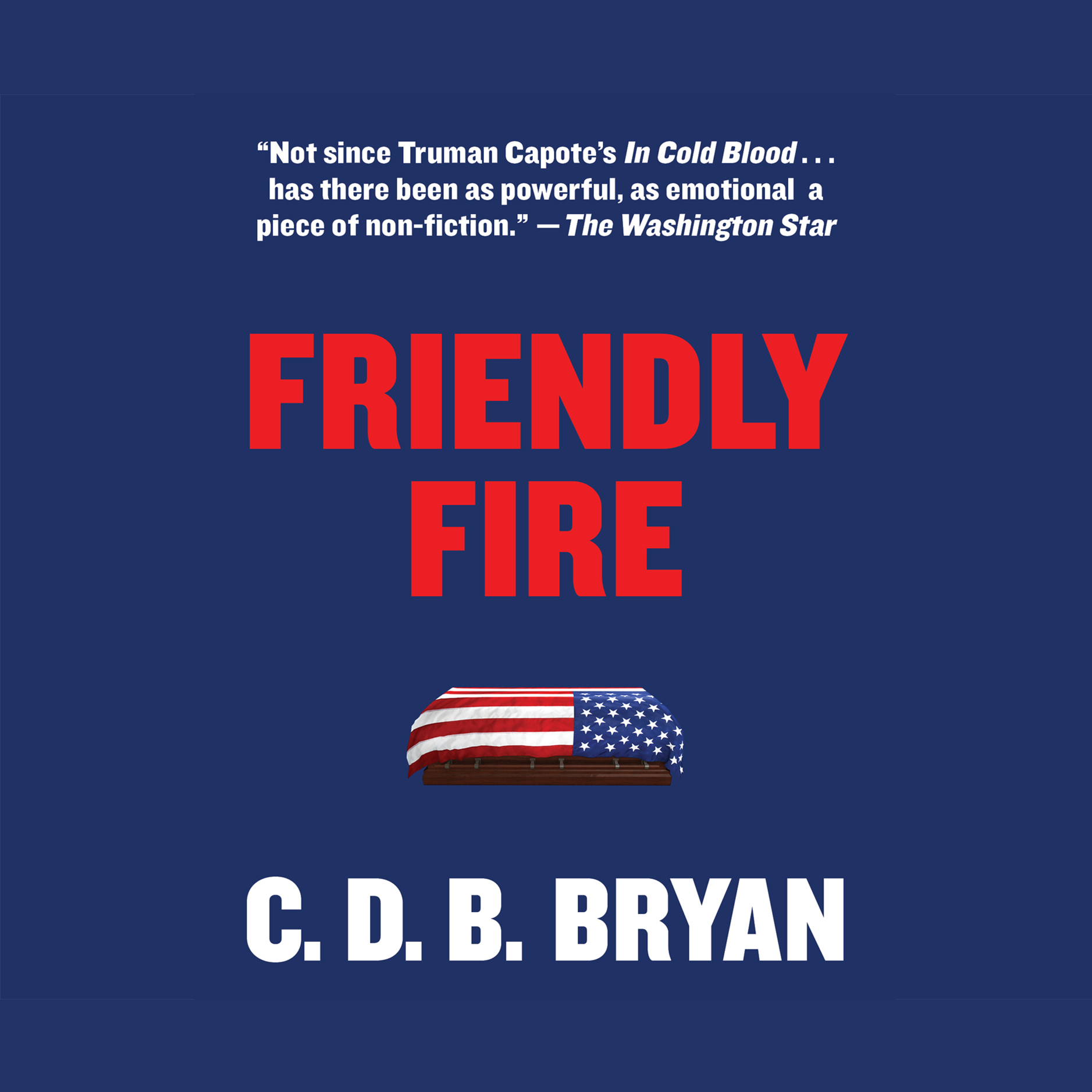 Printable Friendly Fire Audiobook Cover Art