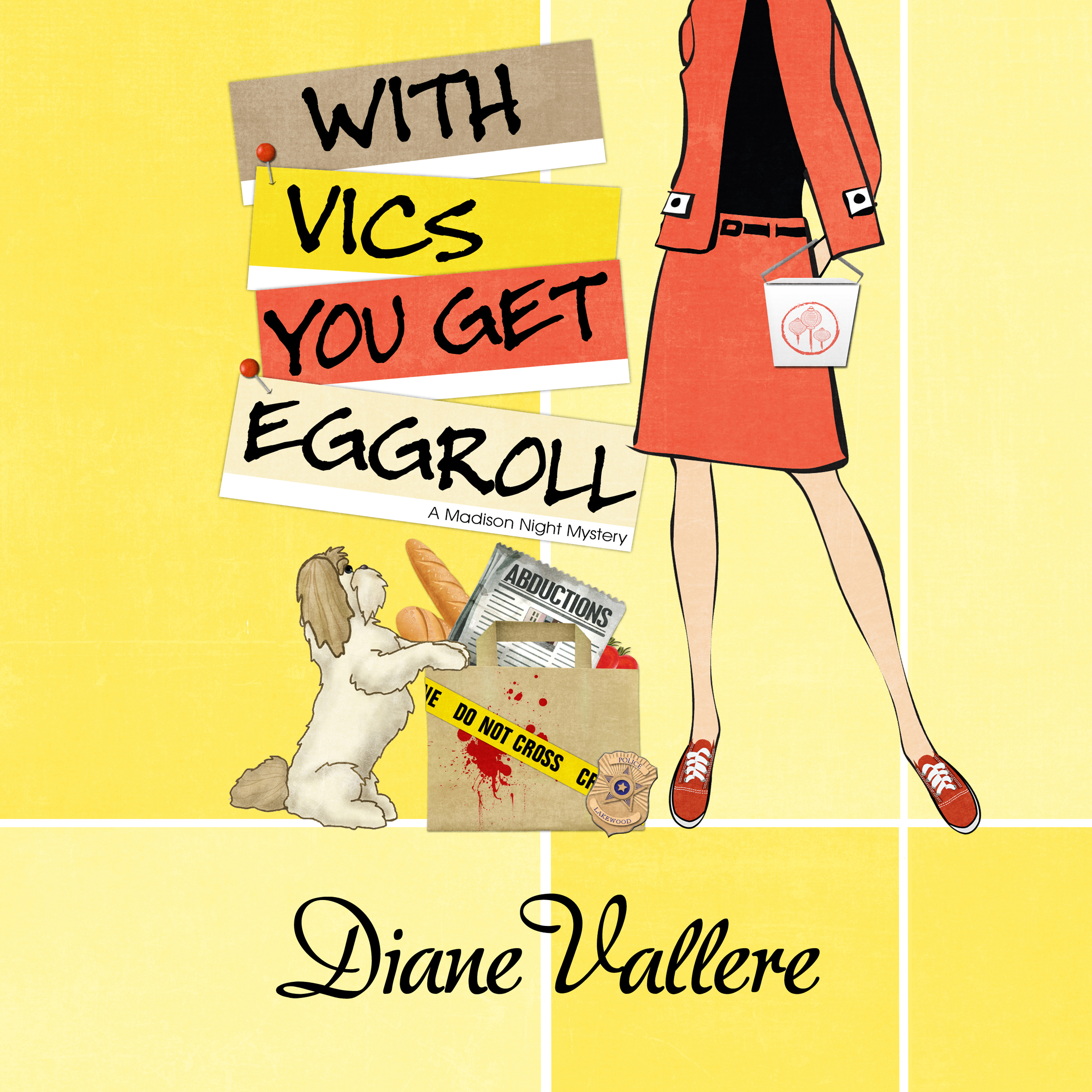 Printable With Vics You Get Eggroll Audiobook Cover Art
