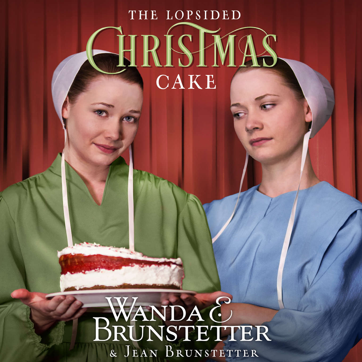 Printable The Lopsided Christmas Cake Audiobook Cover Art