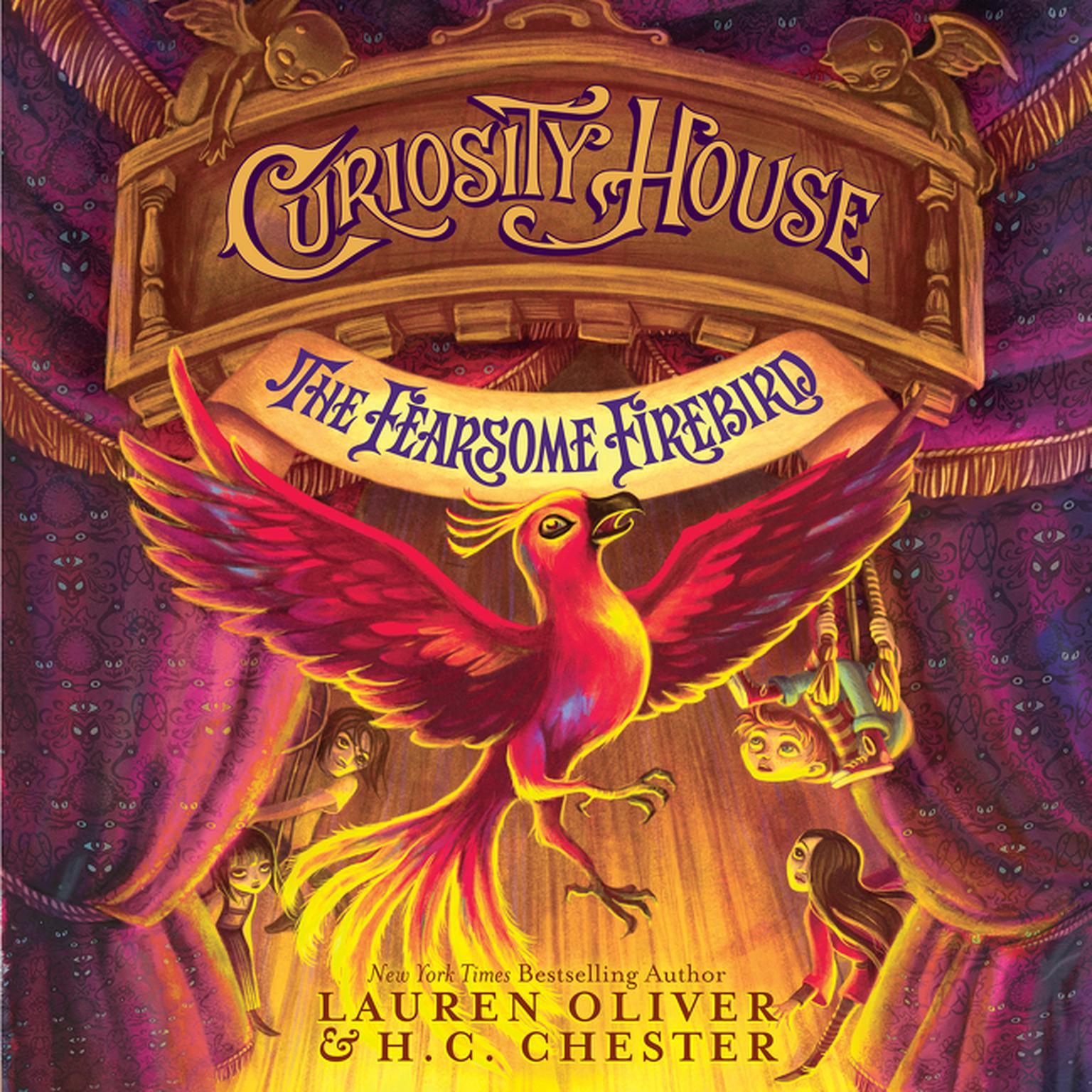 Printable Curiosity House: The Fearsome Firebird Audiobook Cover Art
