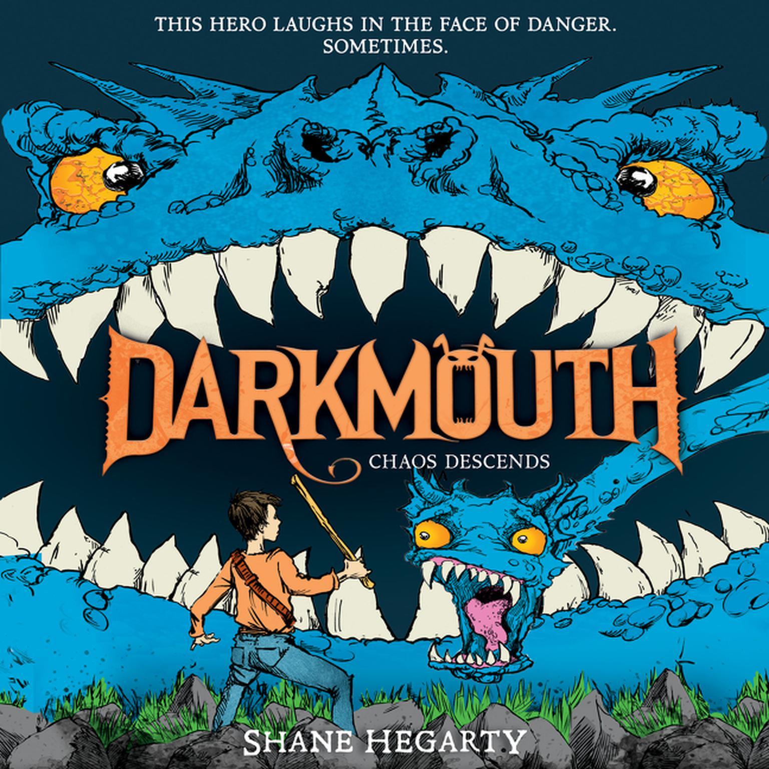 Printable Darkmouth #3: Chaos Descends Audiobook Cover Art