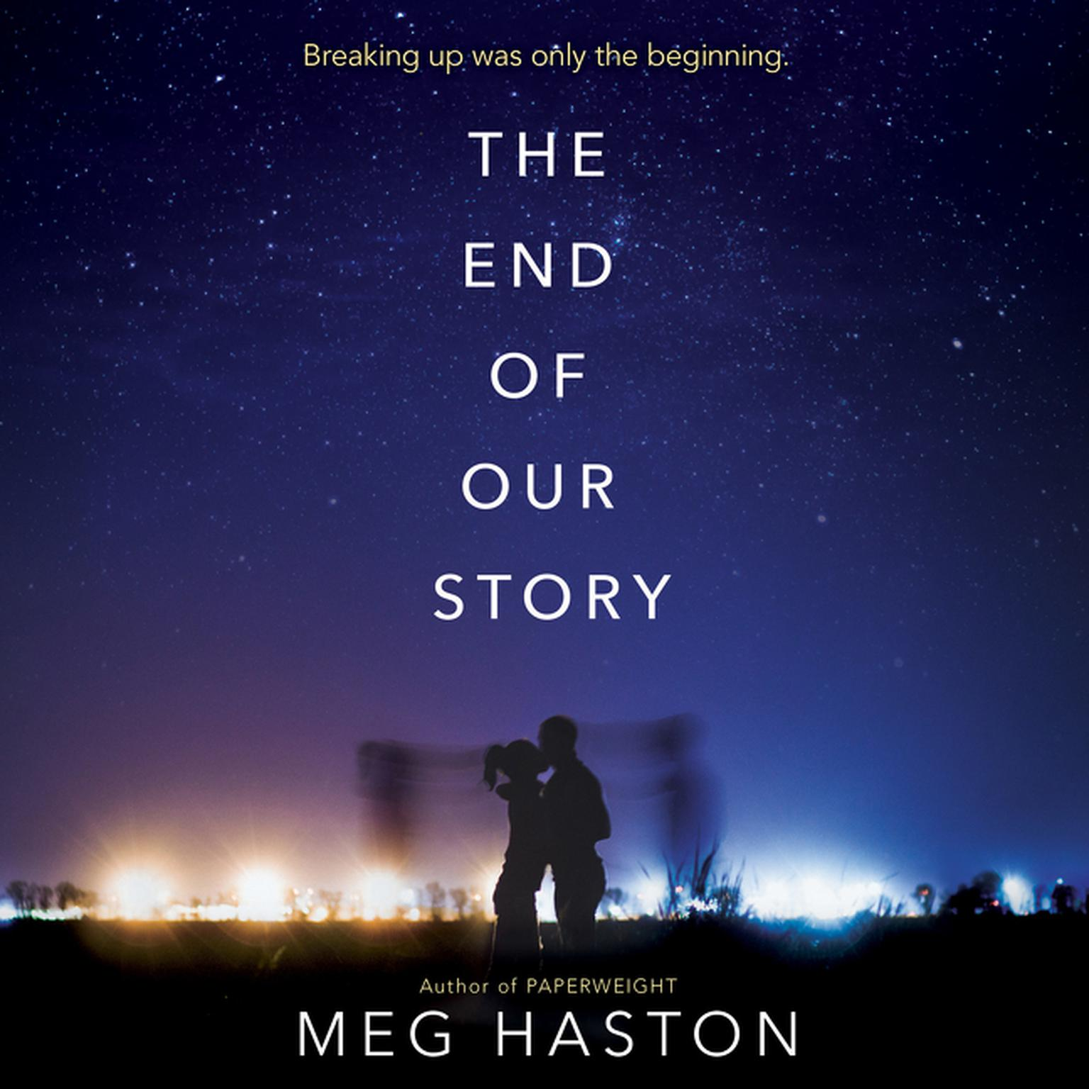 Printable The End of Our Story Audiobook Cover Art