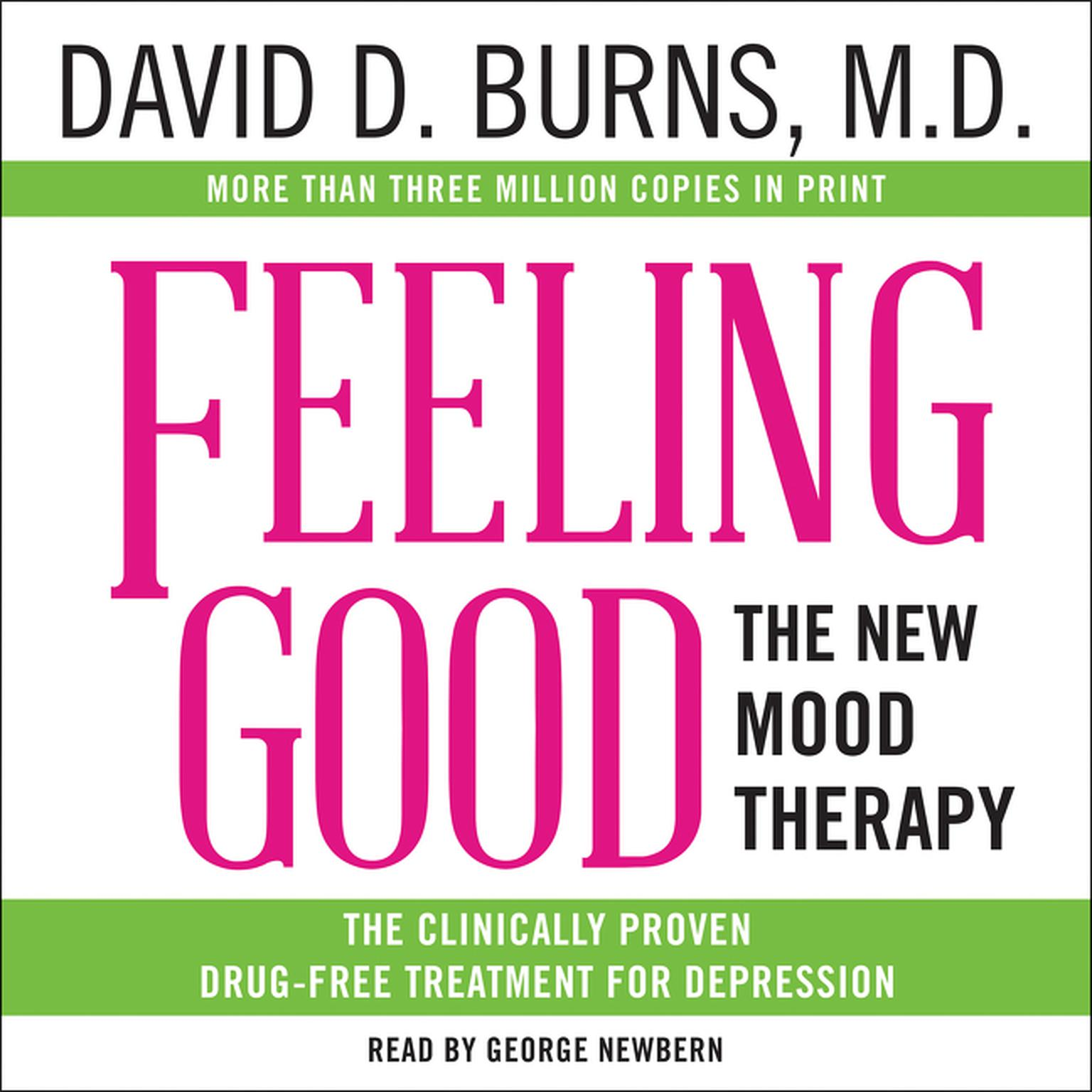 Printable Feeling Good: The New Mood Therapy Audiobook Cover Art