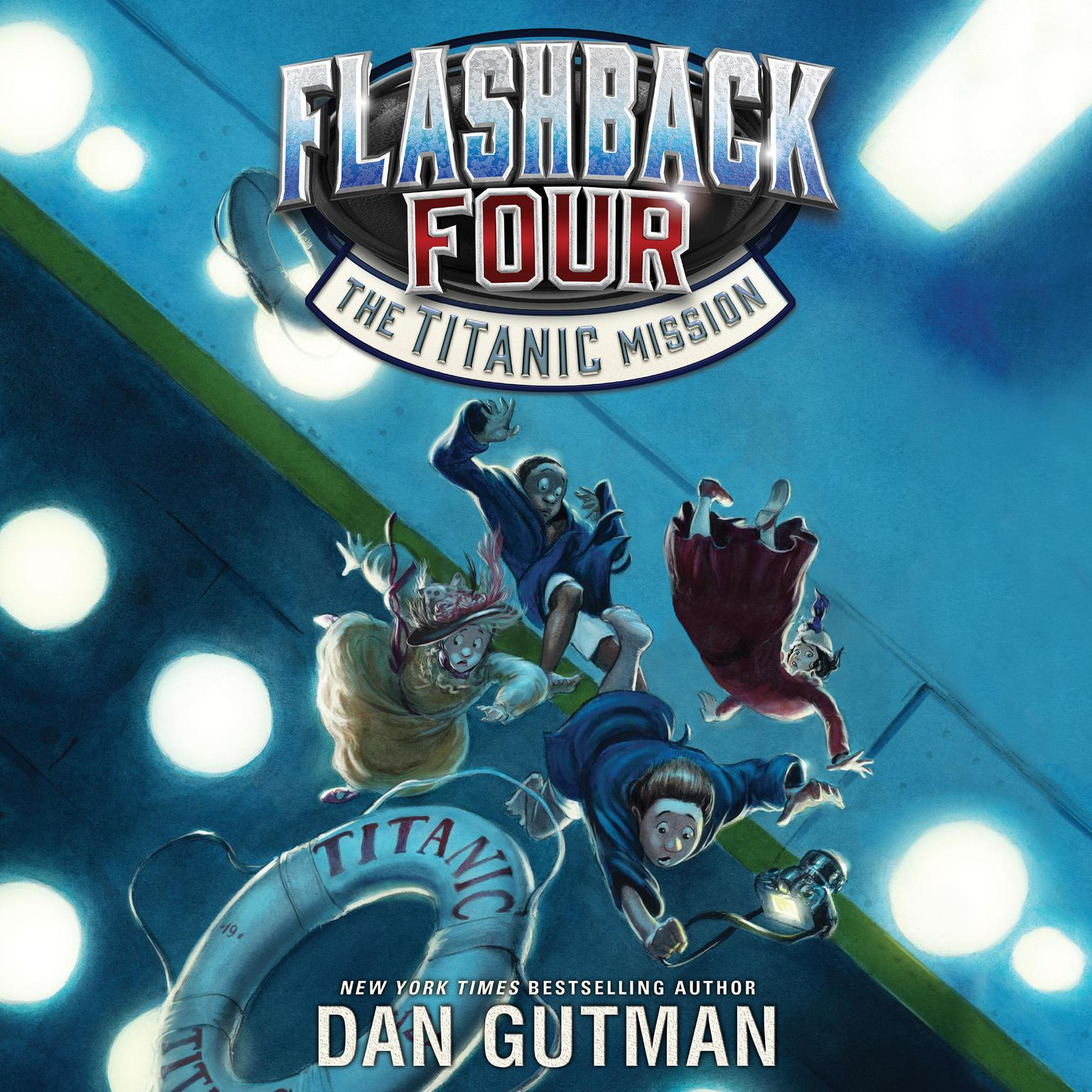 Printable Flashback Four #2: The Titanic Mission Audiobook Cover Art
