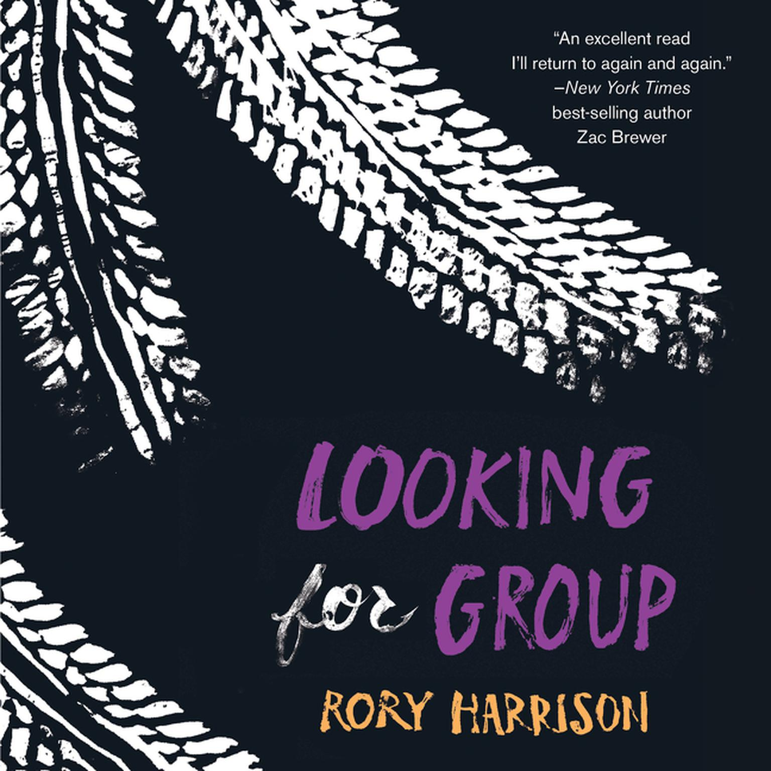 Printable Looking for Group Audiobook Cover Art