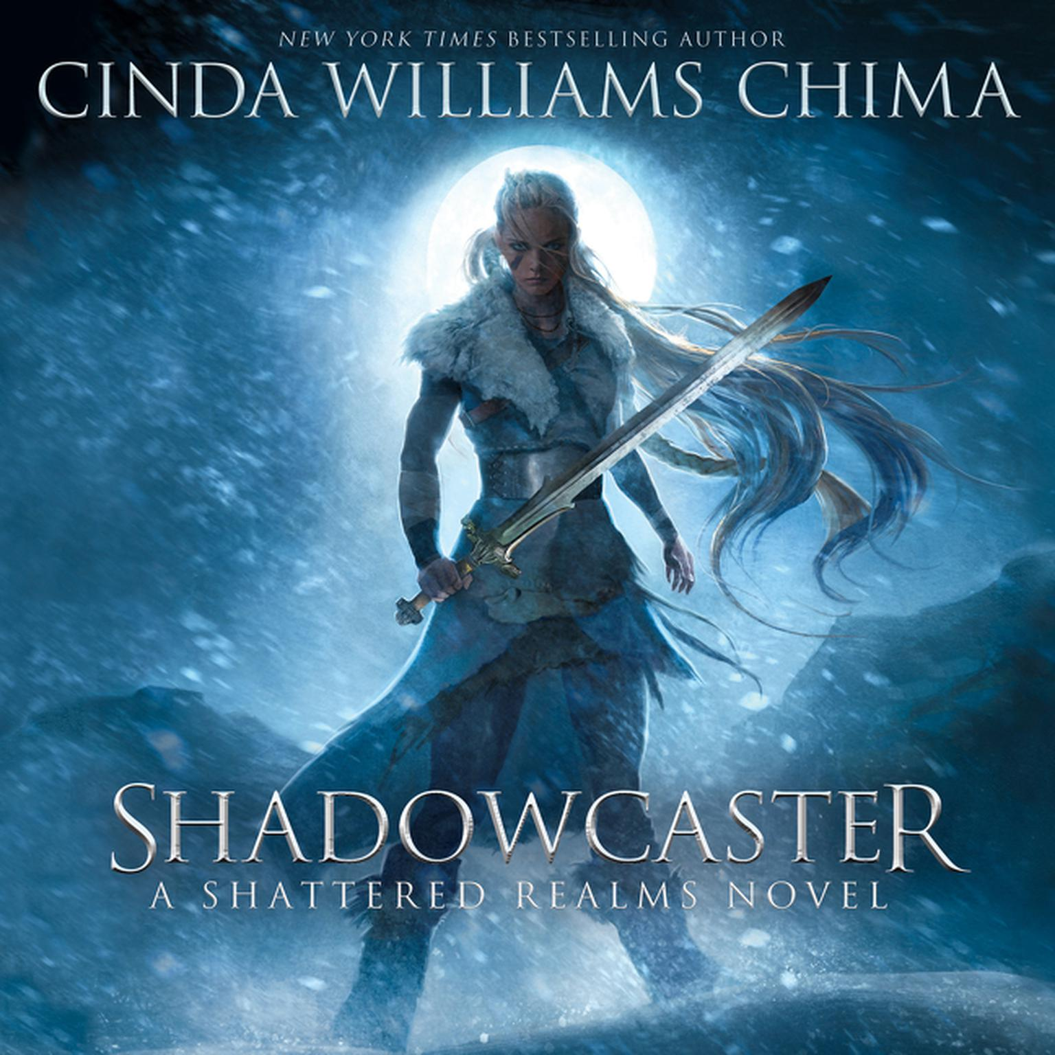 Printable Shadowcaster Audiobook Cover Art