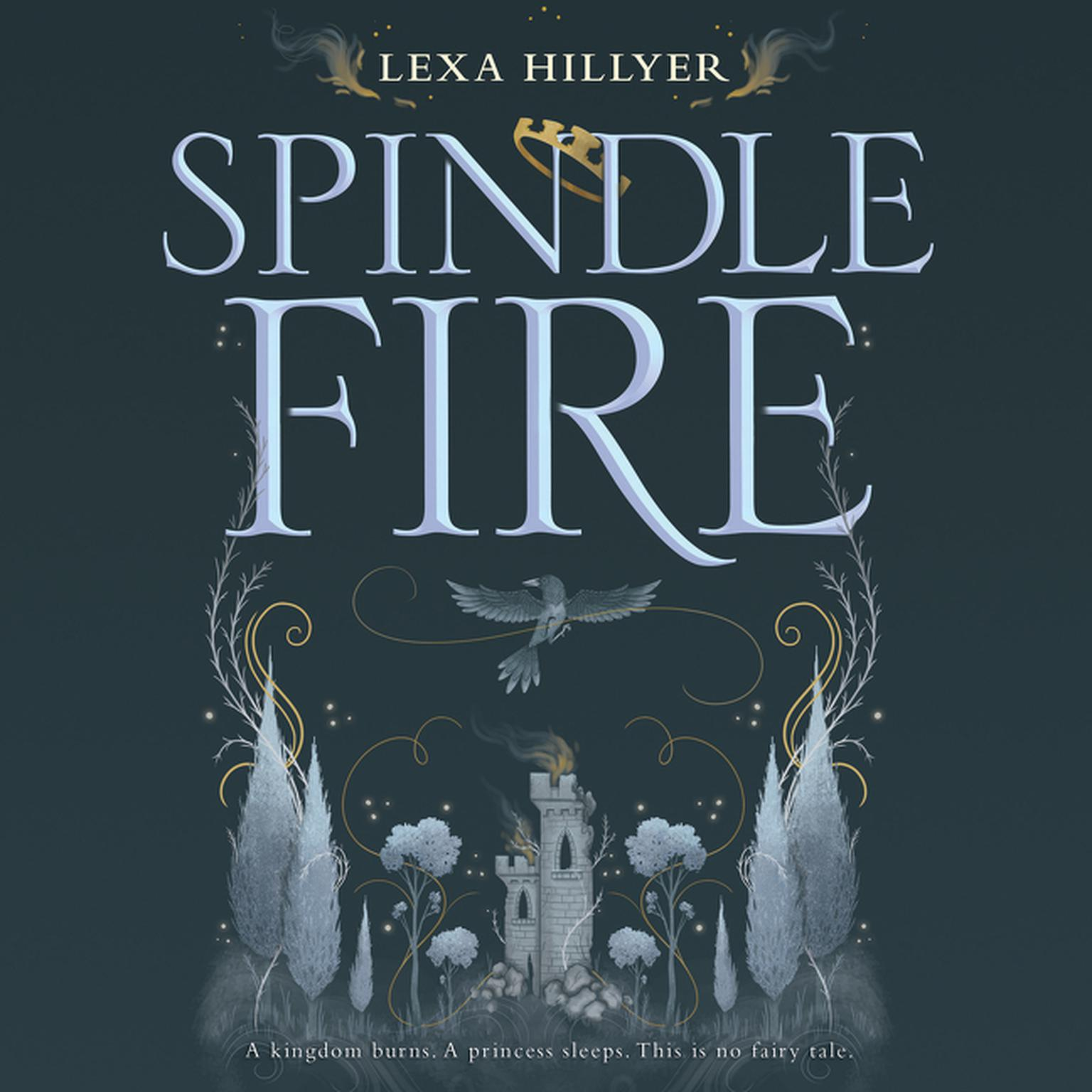 Printable Spindle Fire Audiobook Cover Art