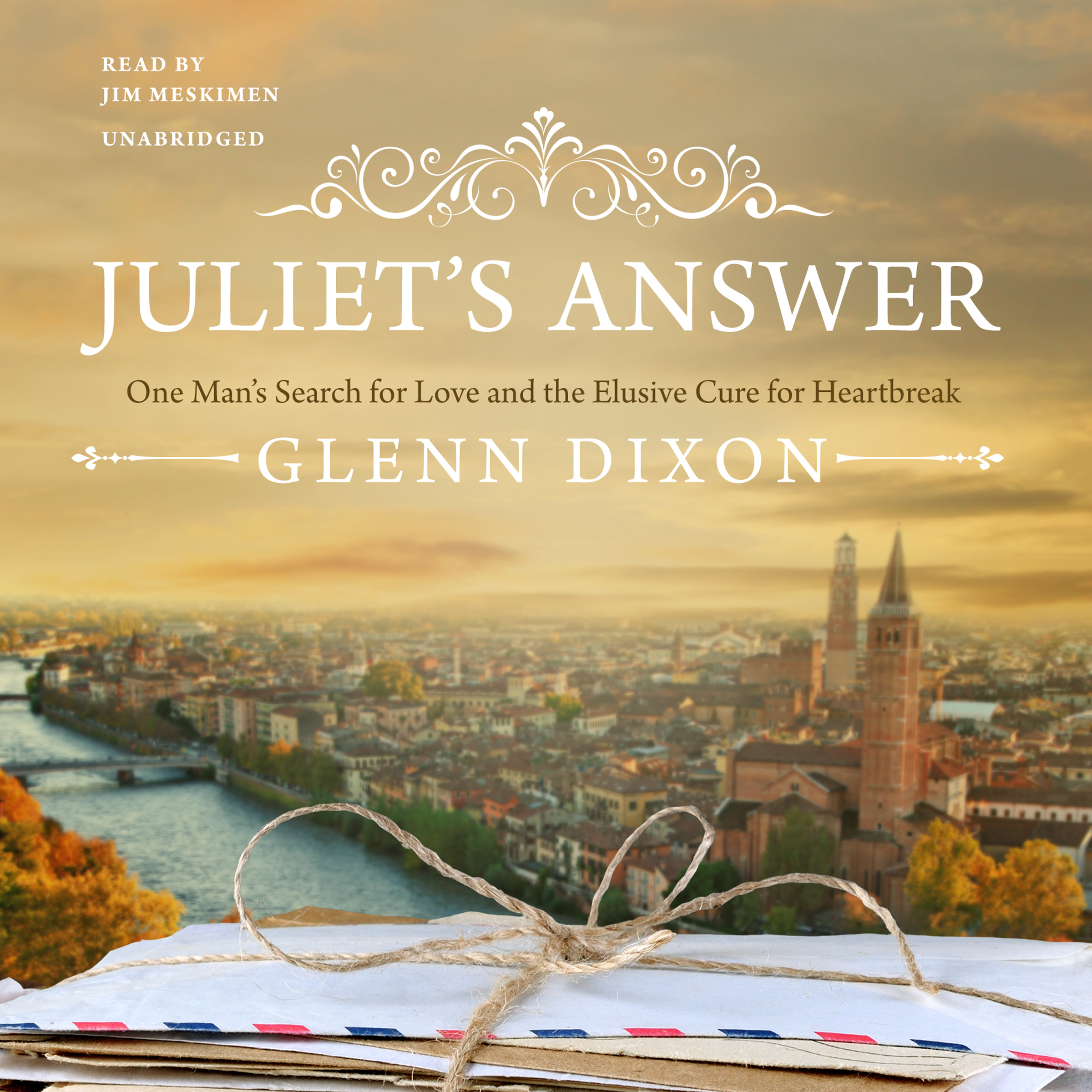 Printable Juliet's Answer: One Man's Search for Love and the Elusive Cure for Heartbreak Audiobook Cover Art