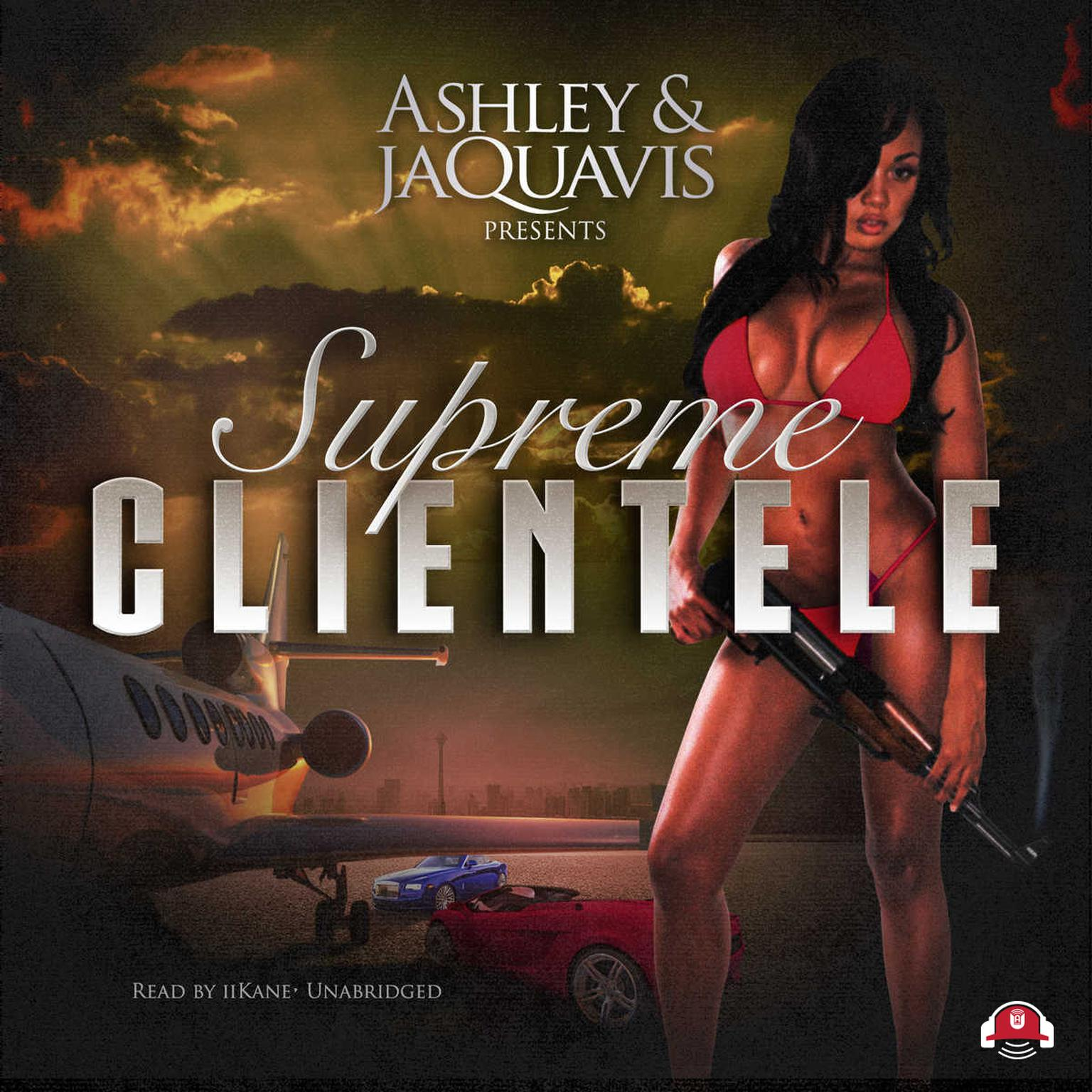 Printable Supreme Clientele Audiobook Cover Art