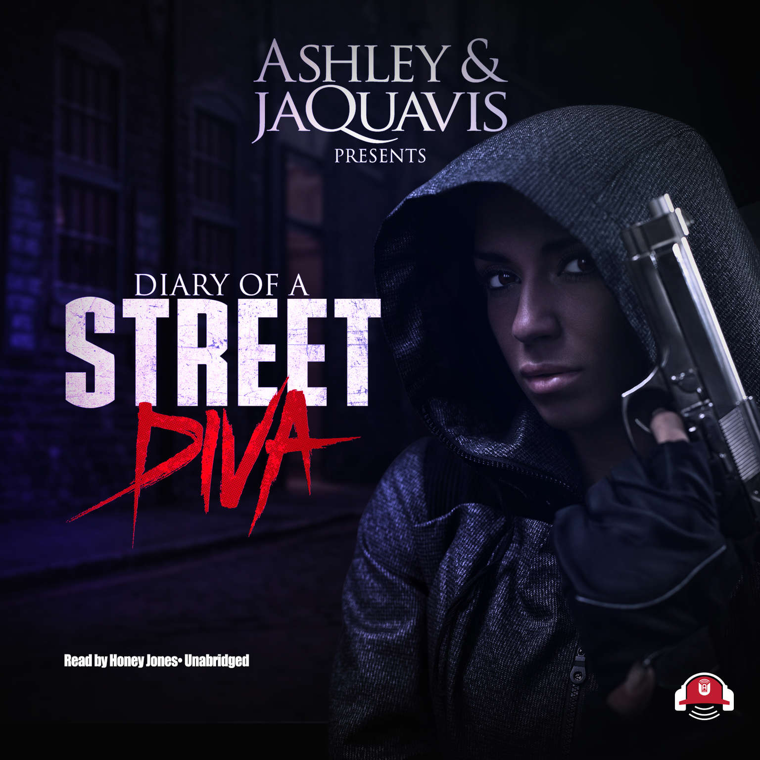 Printable Diary of a Street Diva Audiobook Cover Art