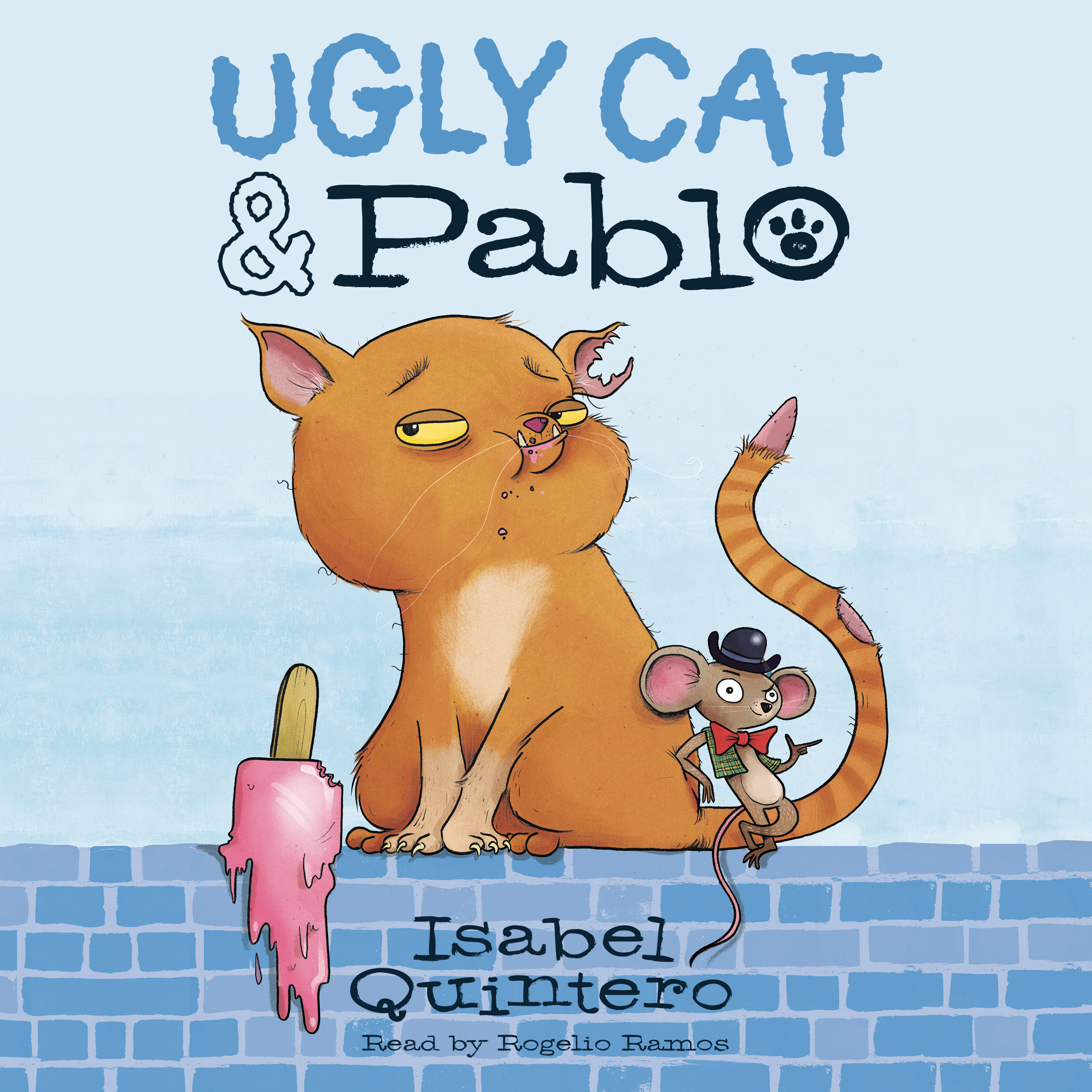 Printable Ugly Cat & Pablo Audiobook Cover Art