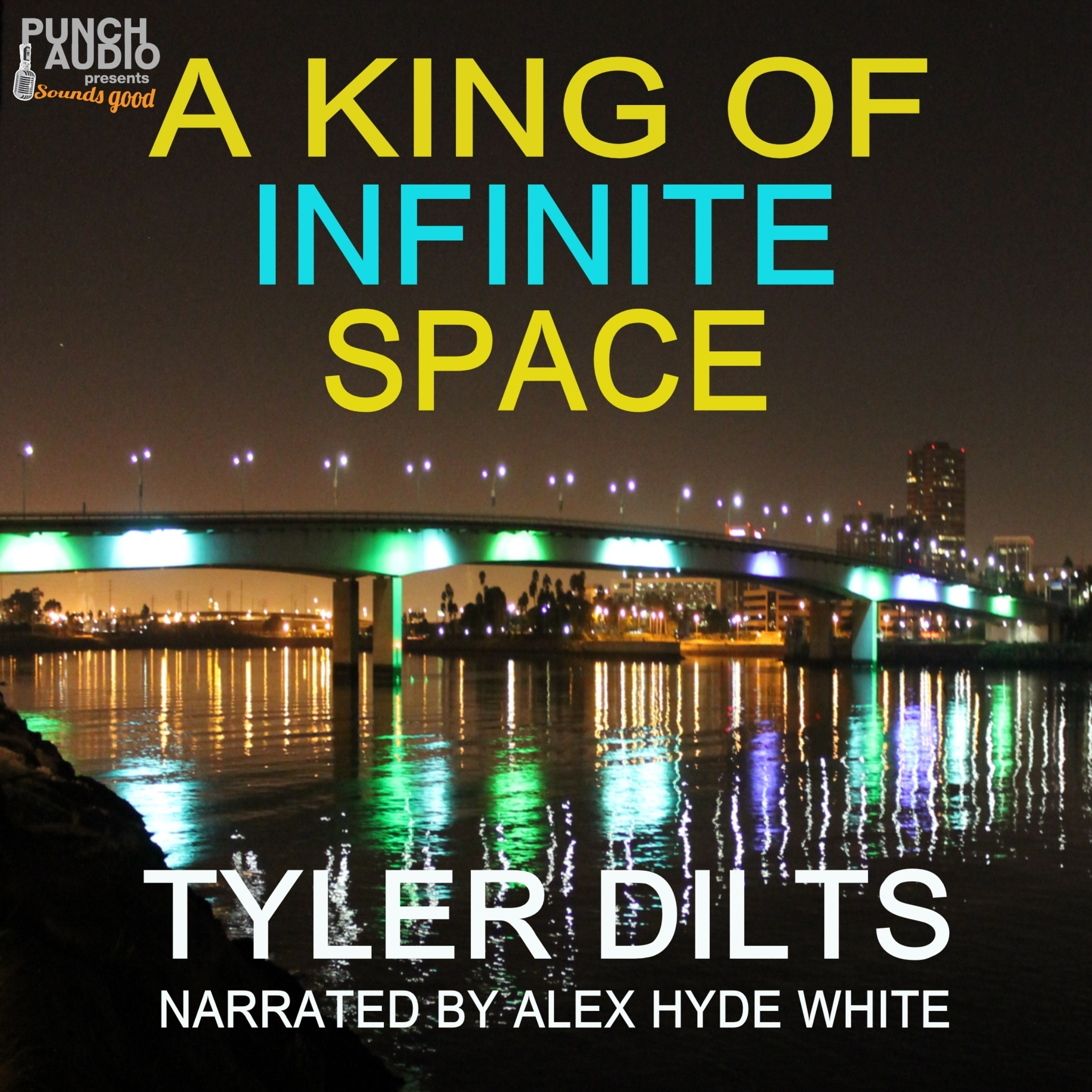 Printable A King of Infinite Space Audiobook Cover Art