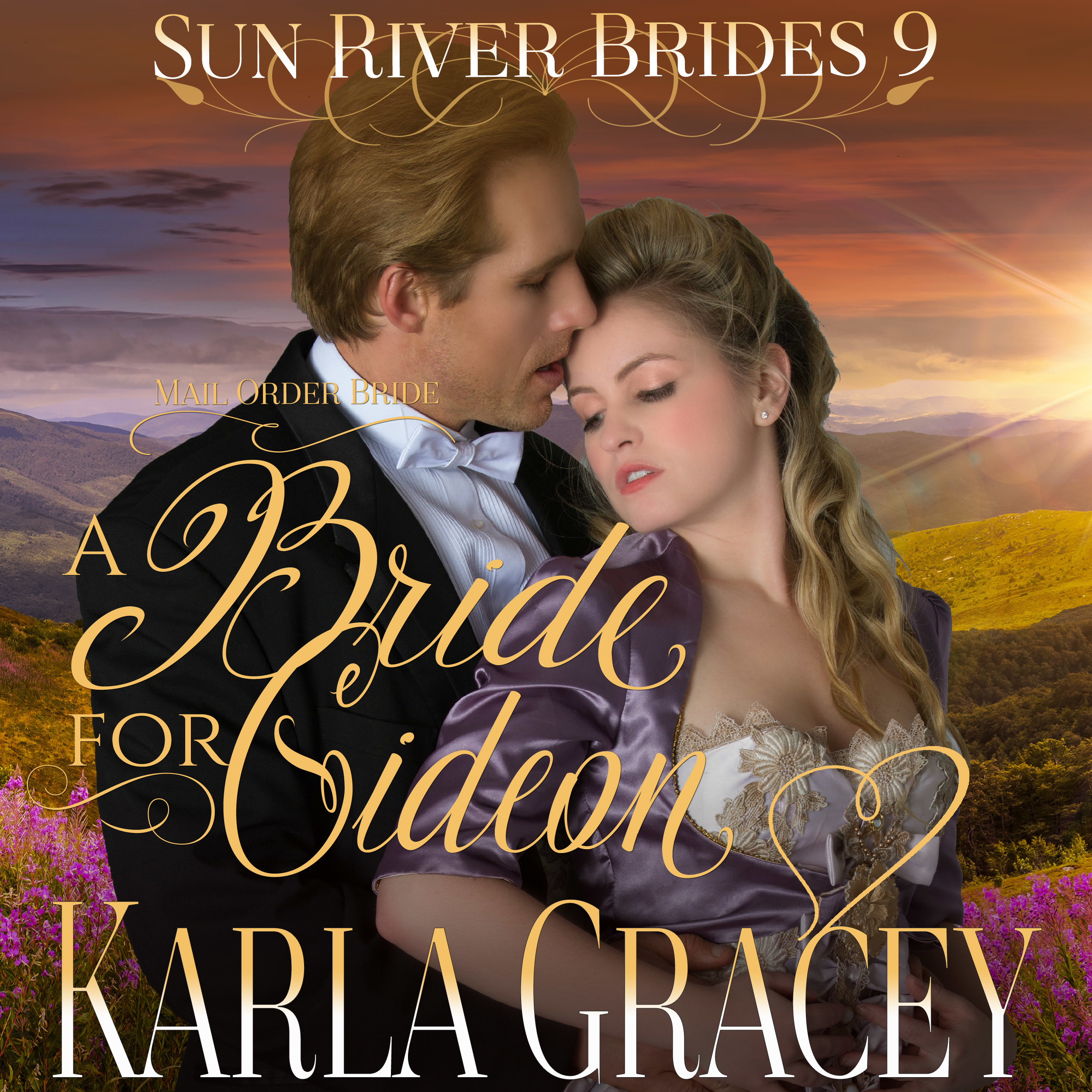 Printable Mail Order Bride - A Bride for Gideon Audiobook Cover Art