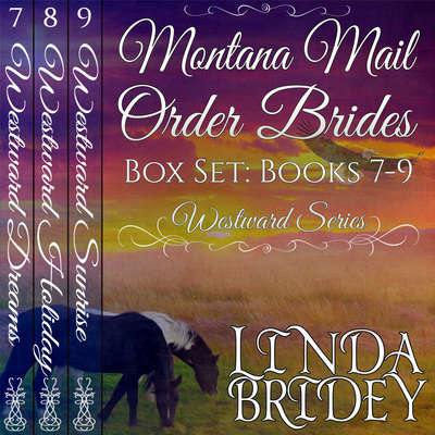 Montana Mail Order Bride Box Set-Westward Series Books 7-9 Audiobook, by Linda Bridey