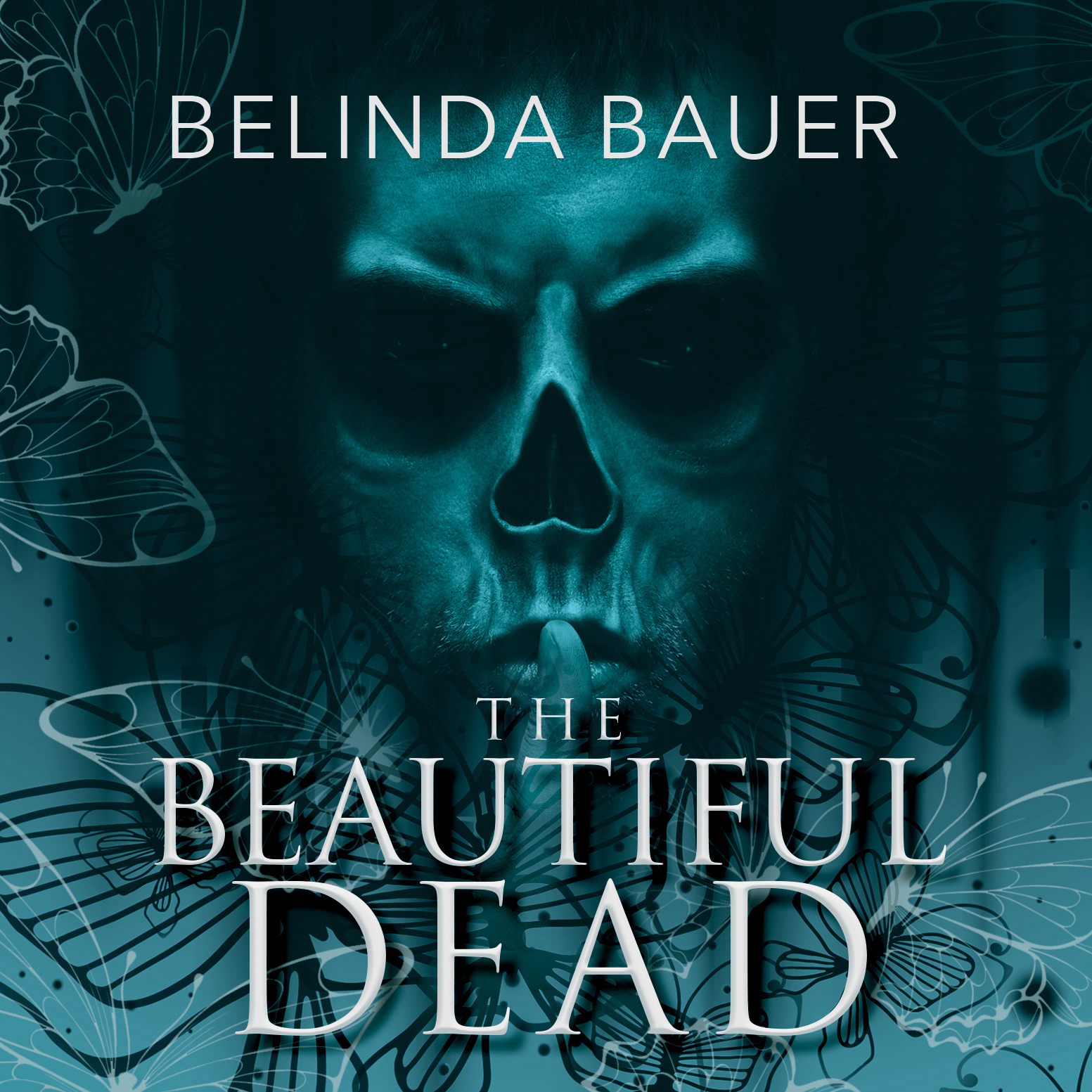 Printable The Beautiful Dead Audiobook Cover Art