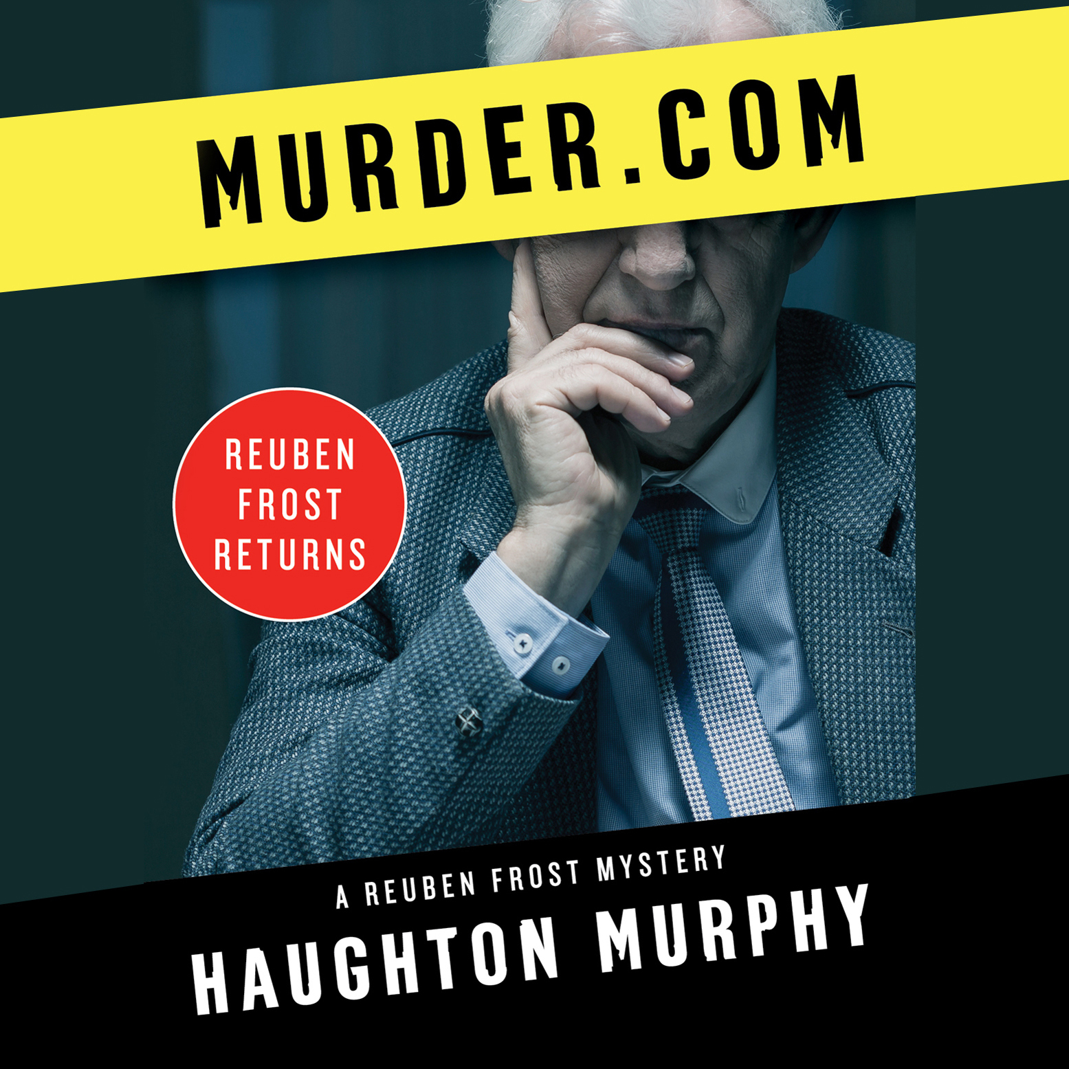 Printable Murder.com Audiobook Cover Art