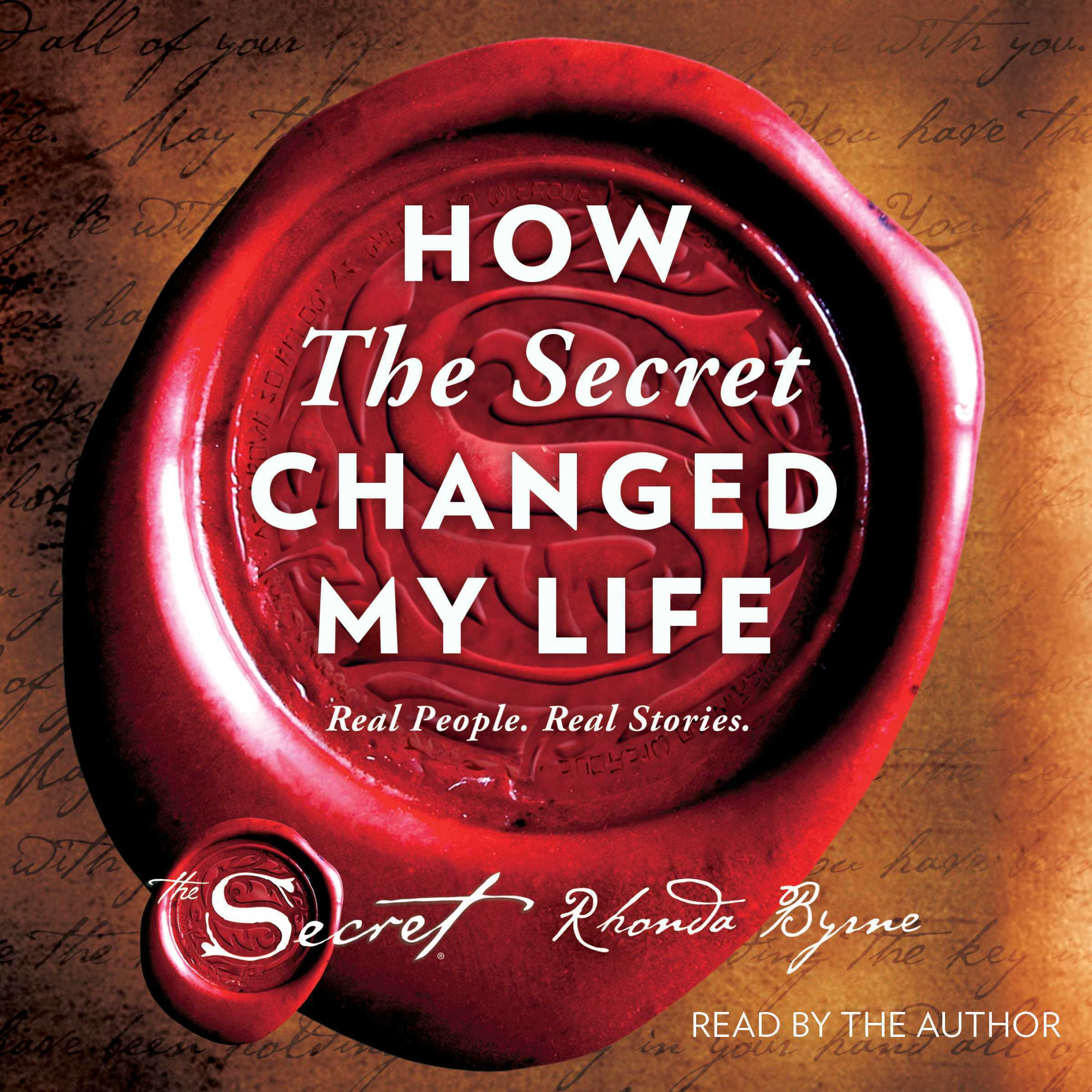 Printable How The Secret Changed My Life: Real People. Real Stories. Audiobook Cover Art