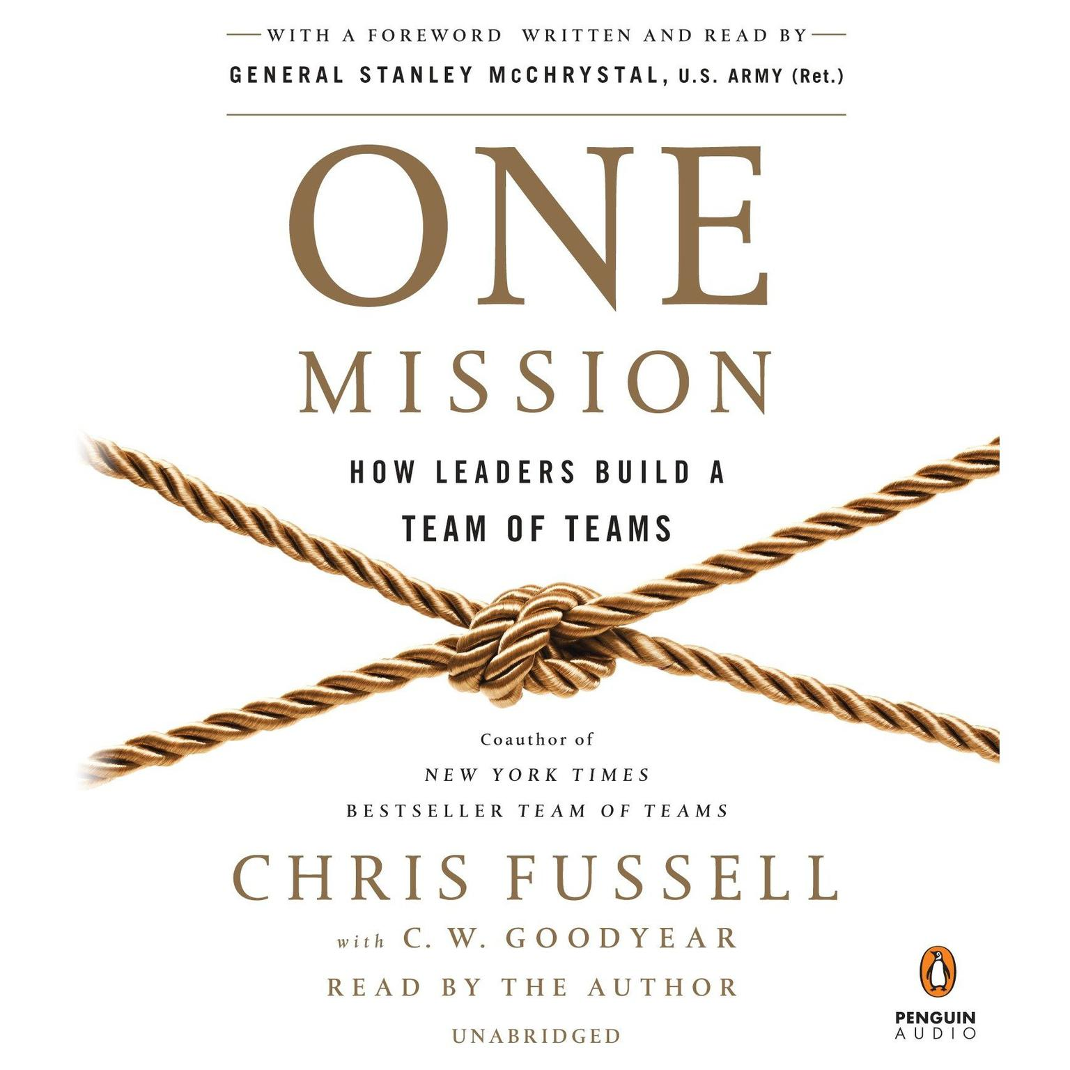 Printable One Mission: How Leaders Build a Team of Teams Audiobook Cover Art