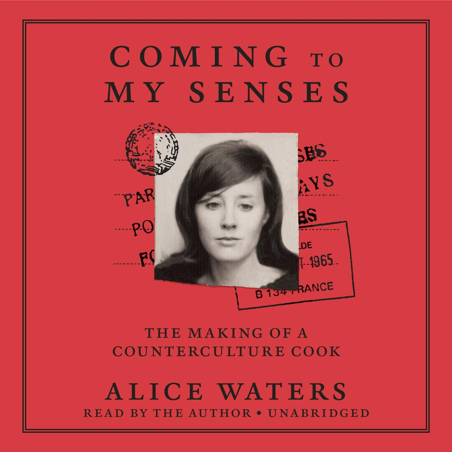Printable Coming to My Senses: The Making of a Counterculture Cook Audiobook Cover Art