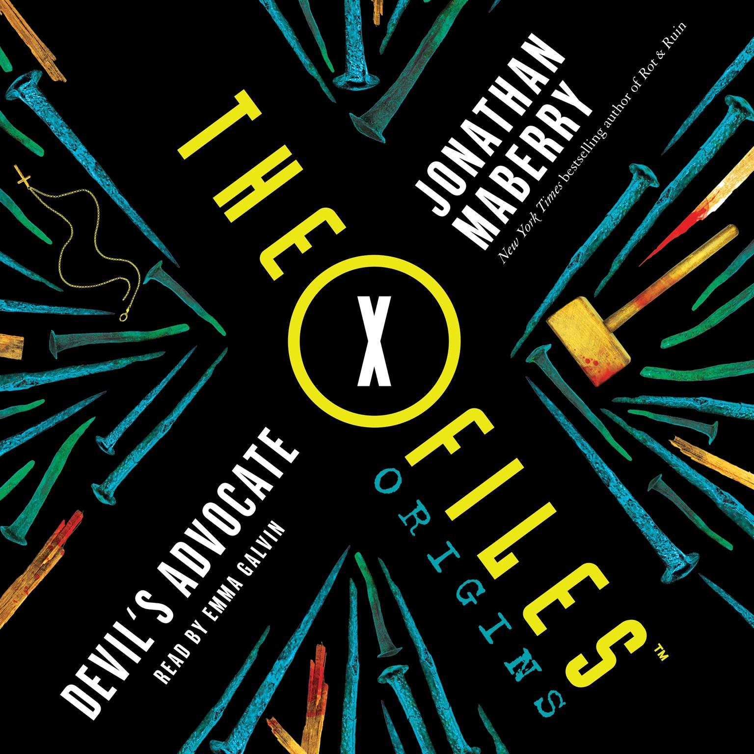Printable The X-Files Origins: Devil's Advocate Audiobook Cover Art