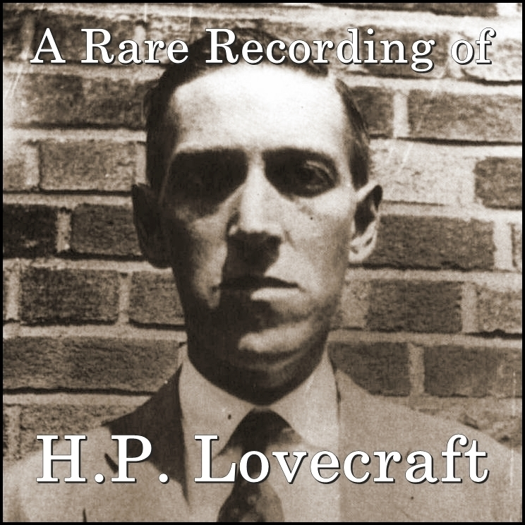 Printable A Rare Recording of H.P. Lovecraft Audiobook Cover Art