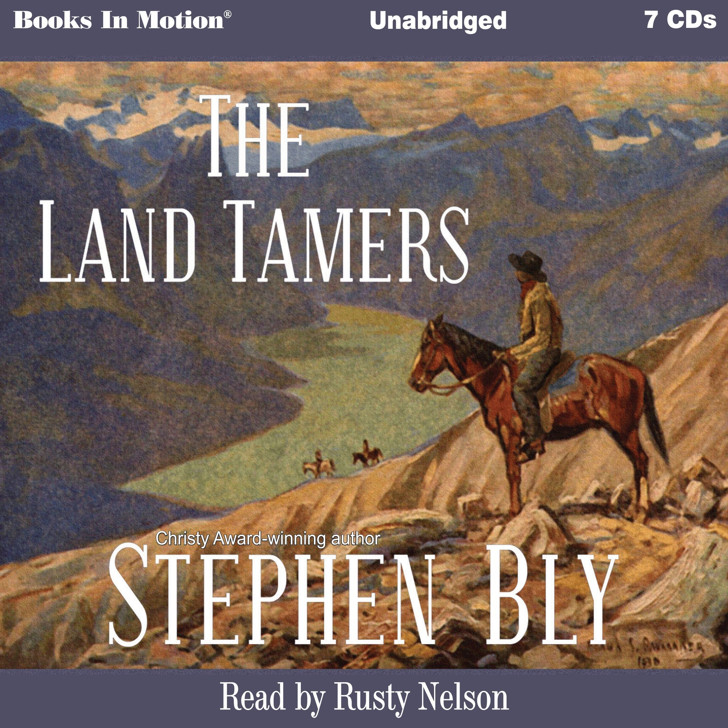 Printable The Land Tamers Audiobook Cover Art