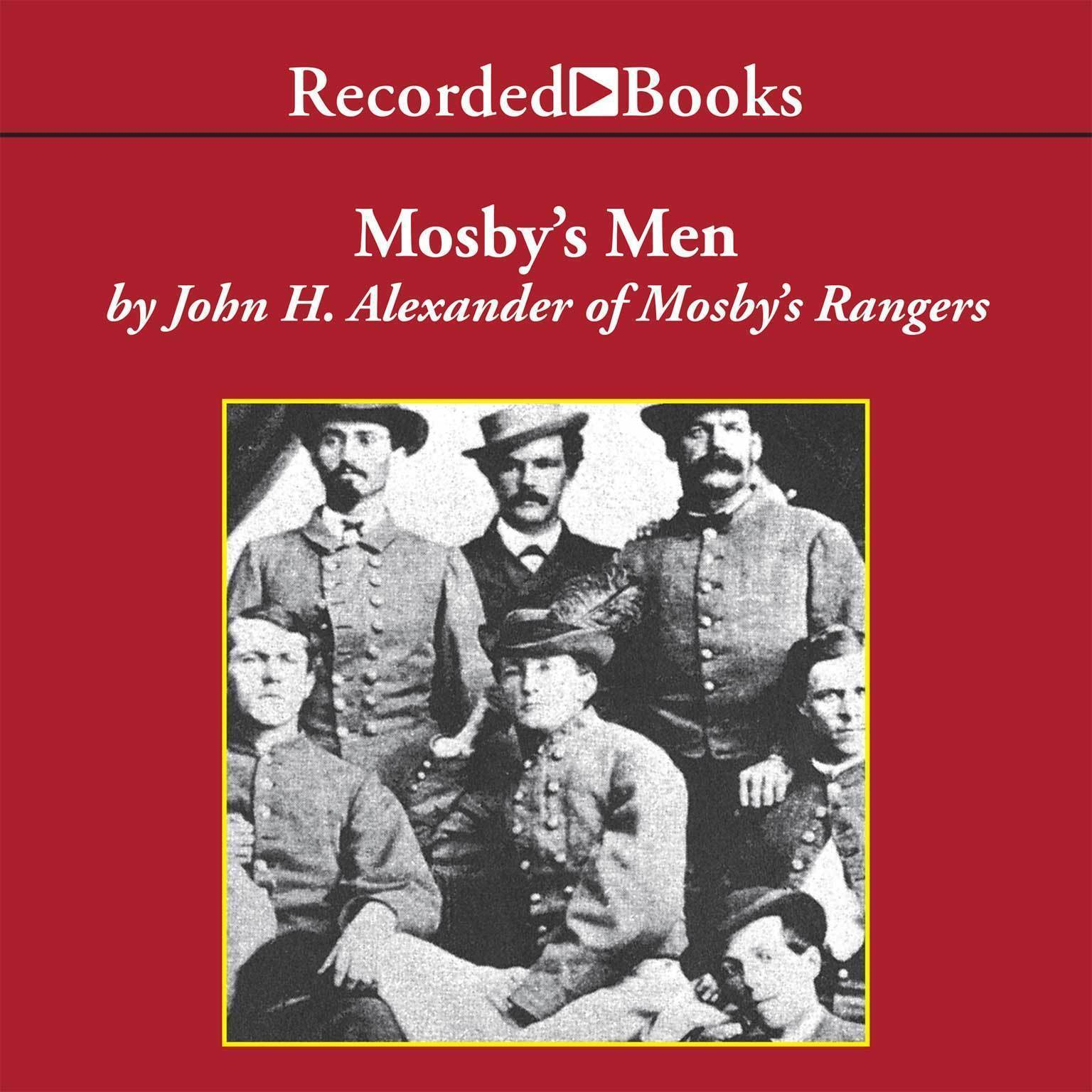 Printable Mosby's Men Audiobook Cover Art