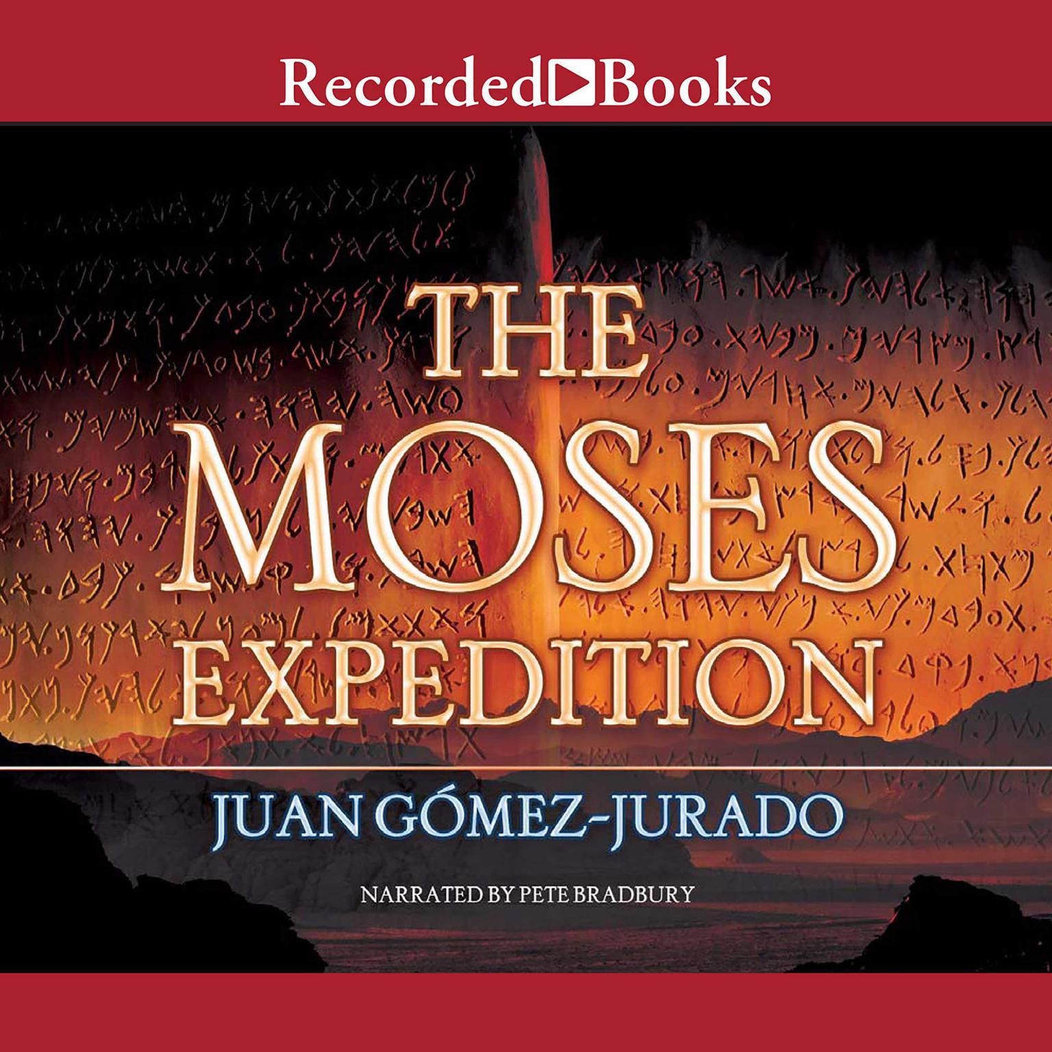 Printable The Moses Expedition Audiobook Cover Art
