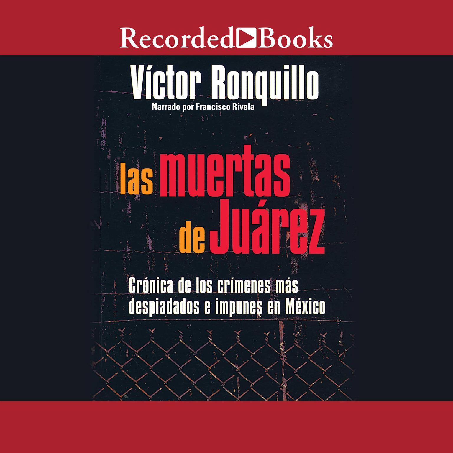 Printable Las muertes de Juarez  Audiobook Cover Art