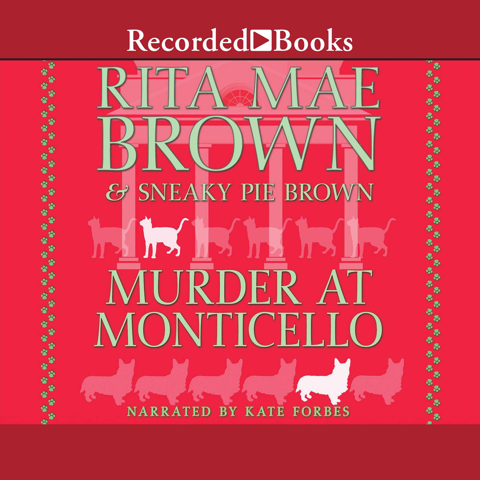 Printable Murder at Monticello Audiobook Cover Art