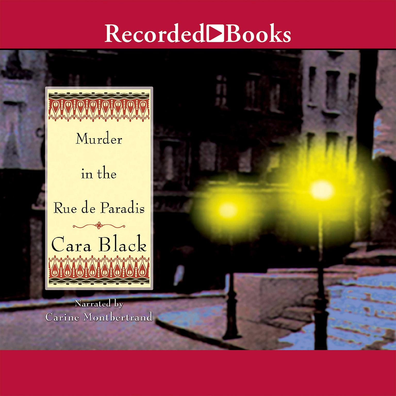 Printable Murder in the Rue de Paradis Audiobook Cover Art