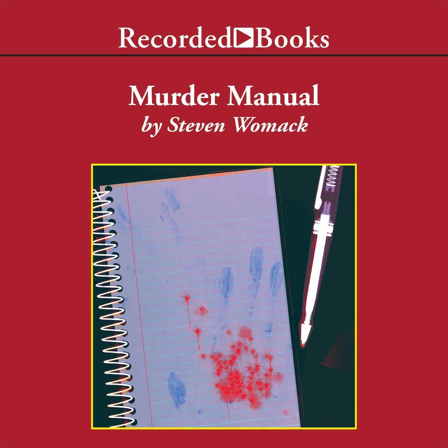 Printable Murder Manual Audiobook Cover Art