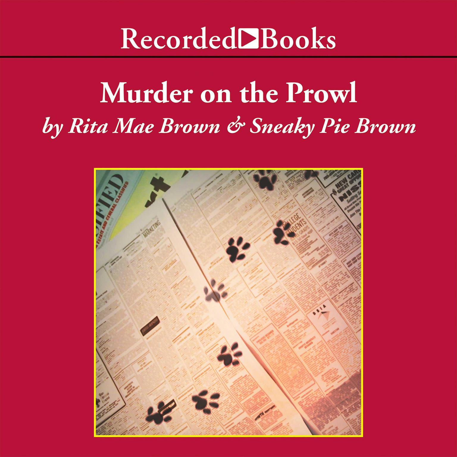 Printable Murder on the Prowl Audiobook Cover Art