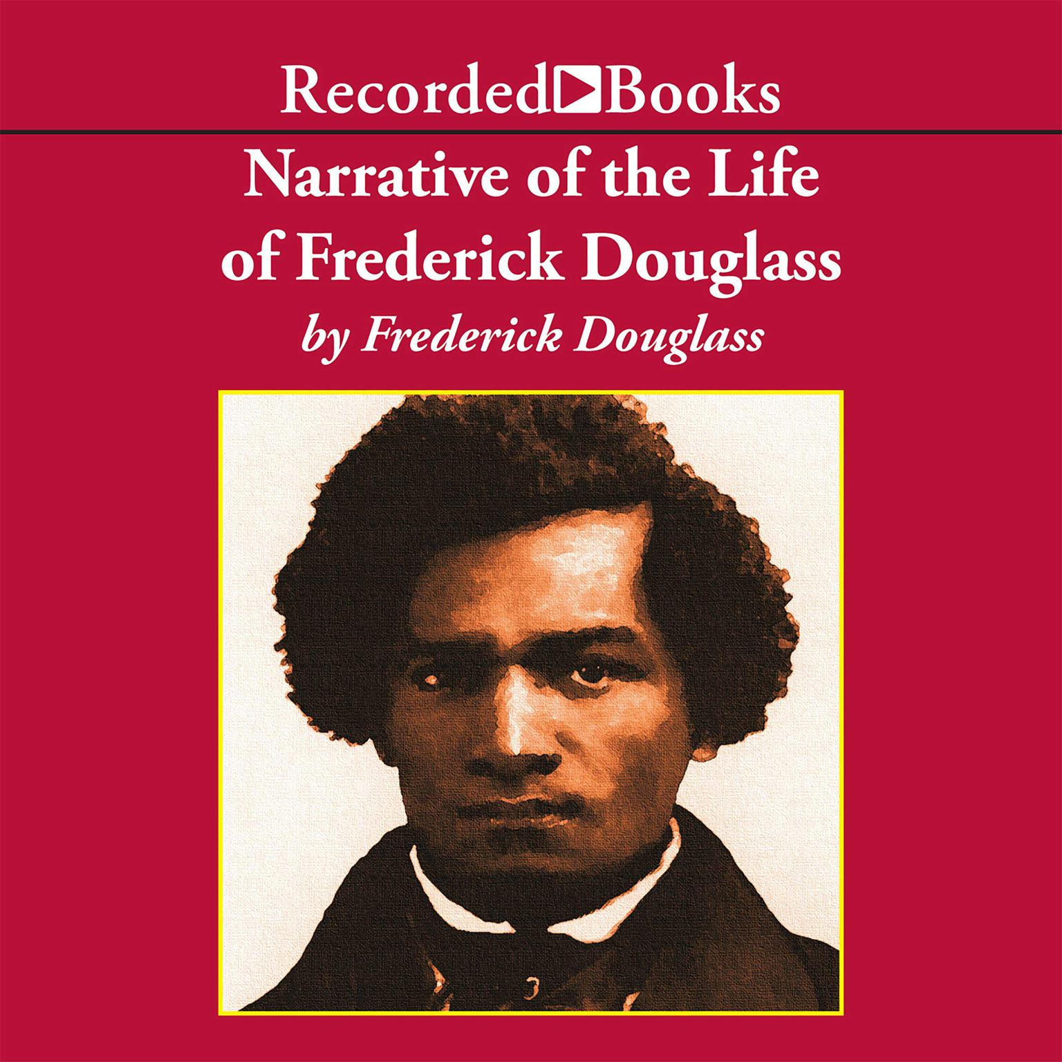 Printable Narrative of the Life of Frederick Douglass, an American Slave Audiobook Cover Art