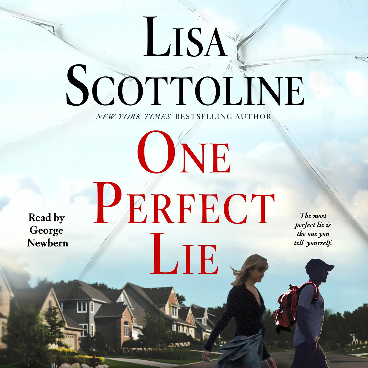 Printable One Perfect Lie Audiobook Cover Art
