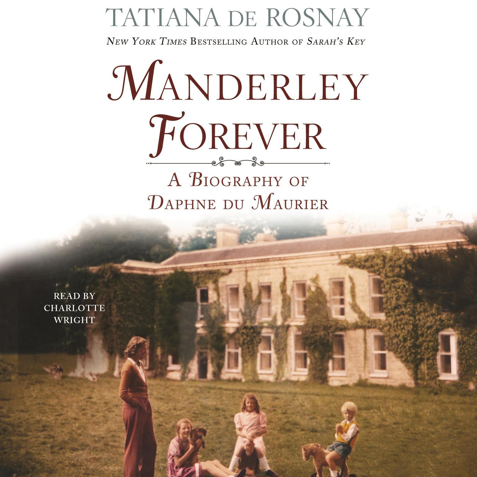Printable Manderley Forever: A Biography of Daphne du Maurier Audiobook Cover Art