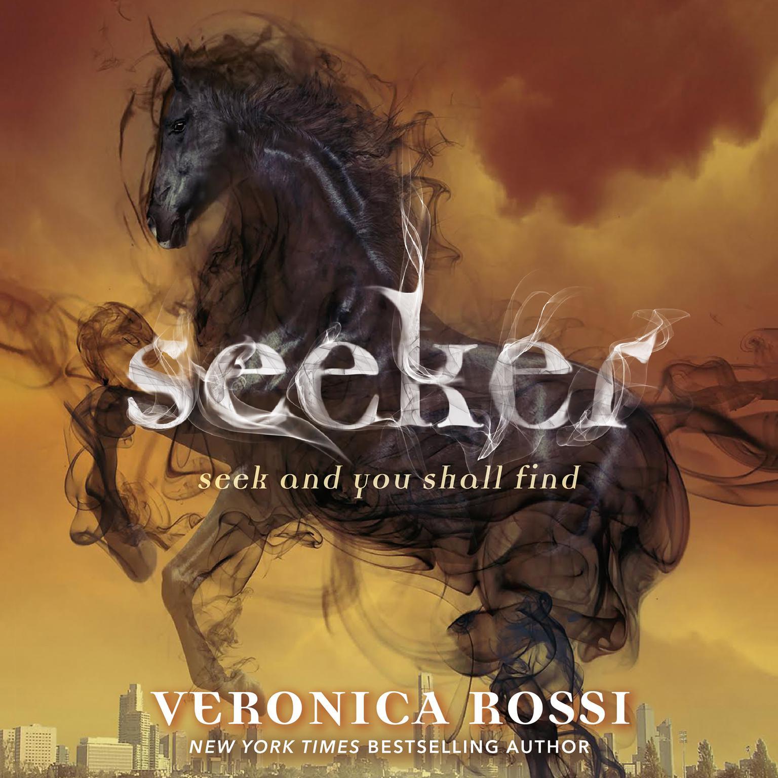Printable Seeker Audiobook Cover Art