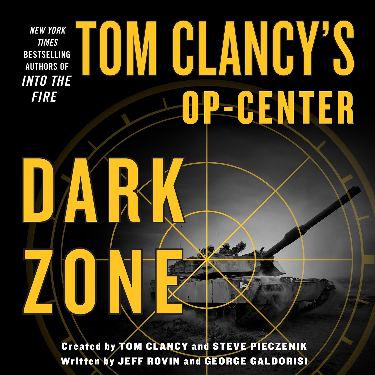 Printable Tom Clancy's Op-Center: Dark Zone Audiobook Cover Art