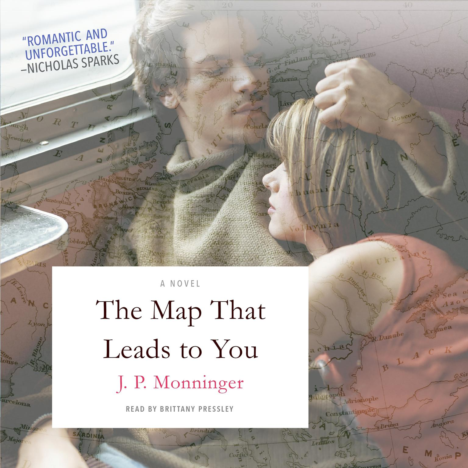 Printable The Map That Leads to You: A Novel Audiobook Cover Art