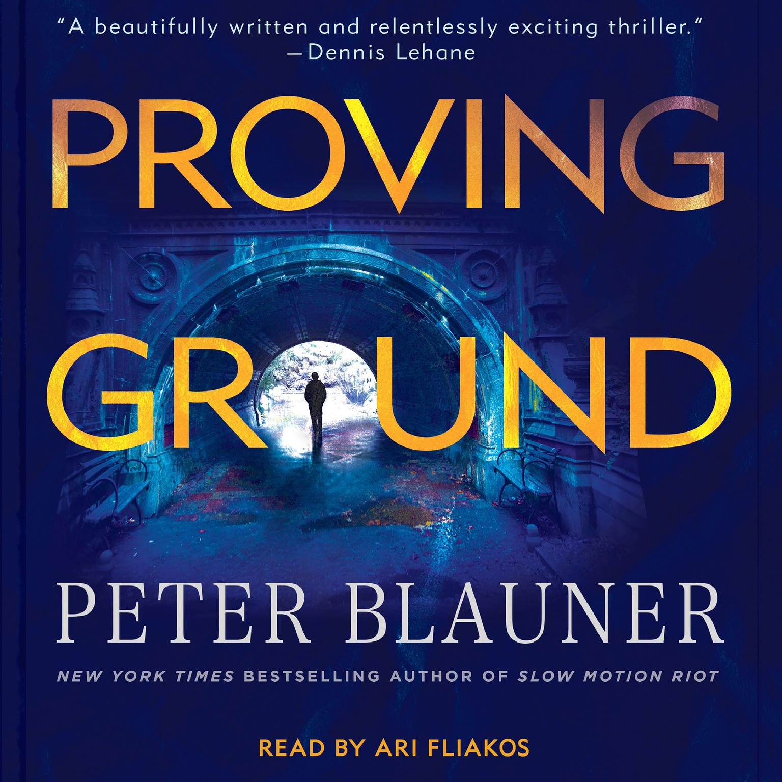 Printable Proving Ground Audiobook Cover Art