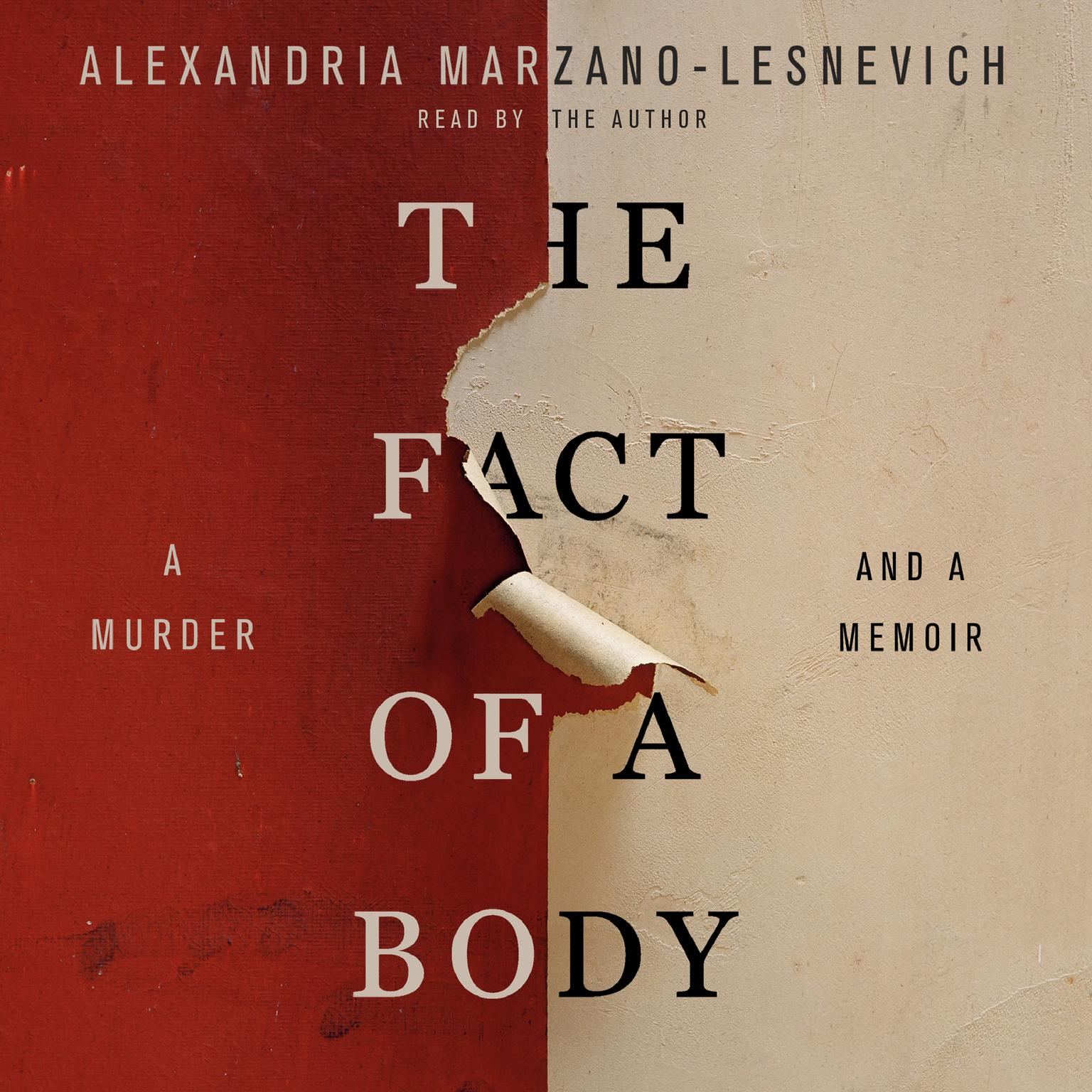 Printable The Fact of a Body: A Murder and a Memoir Audiobook Cover Art