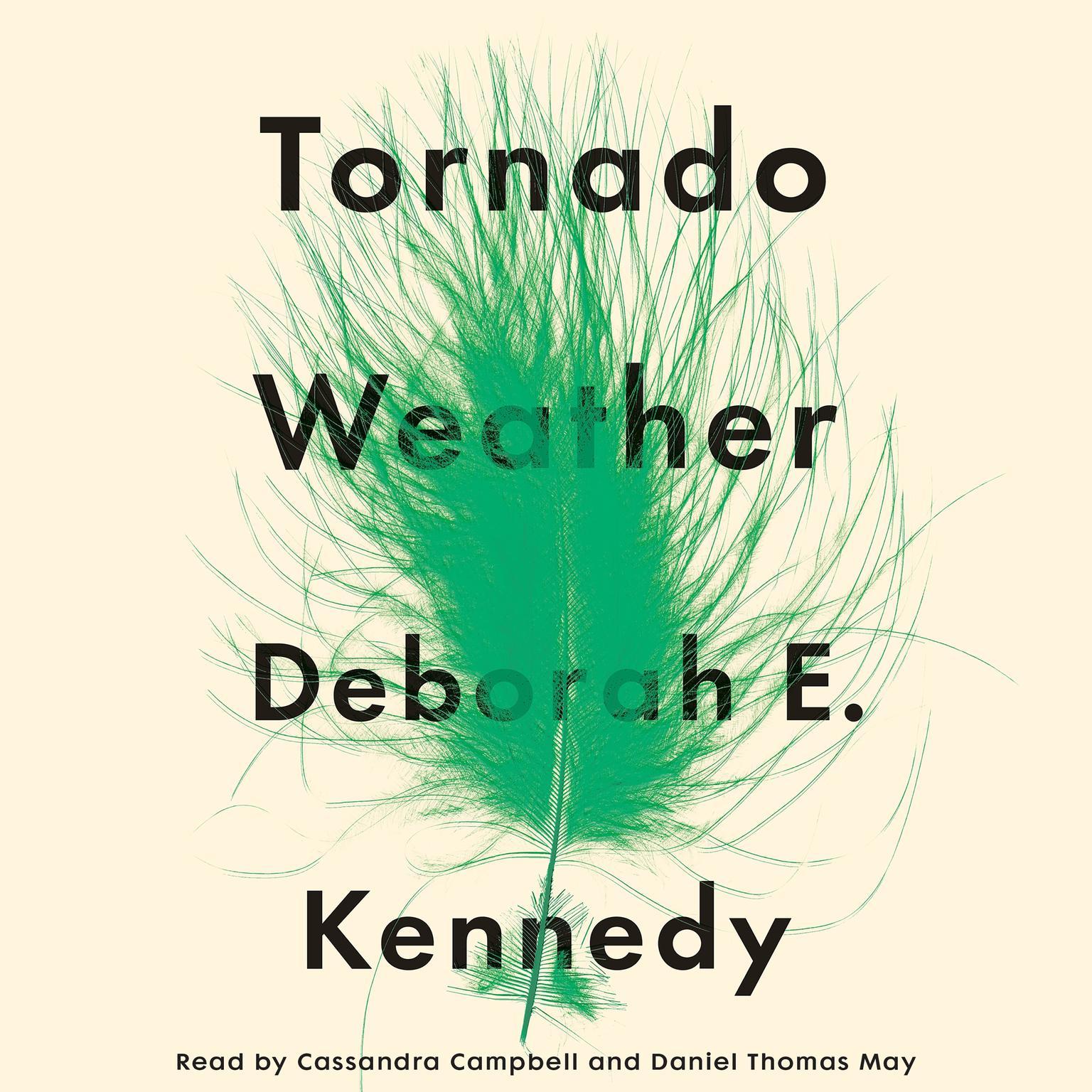 Printable Tornado Weather: A Novel Audiobook Cover Art