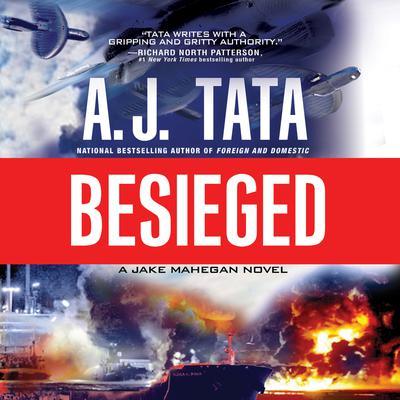 Besieged Audiobook, by A. J. Tata