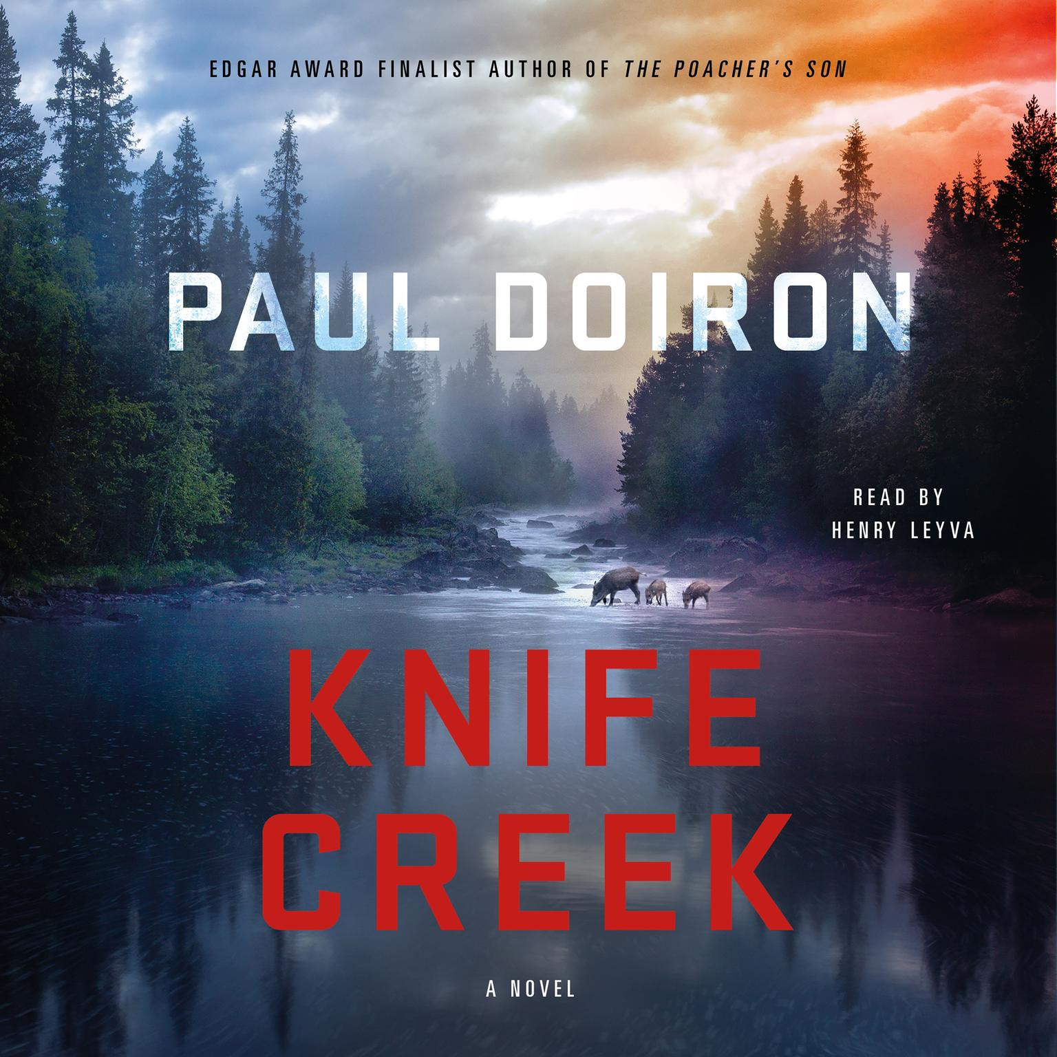 Printable Knife Creek: A Mike Bowditch Mystery Audiobook Cover Art
