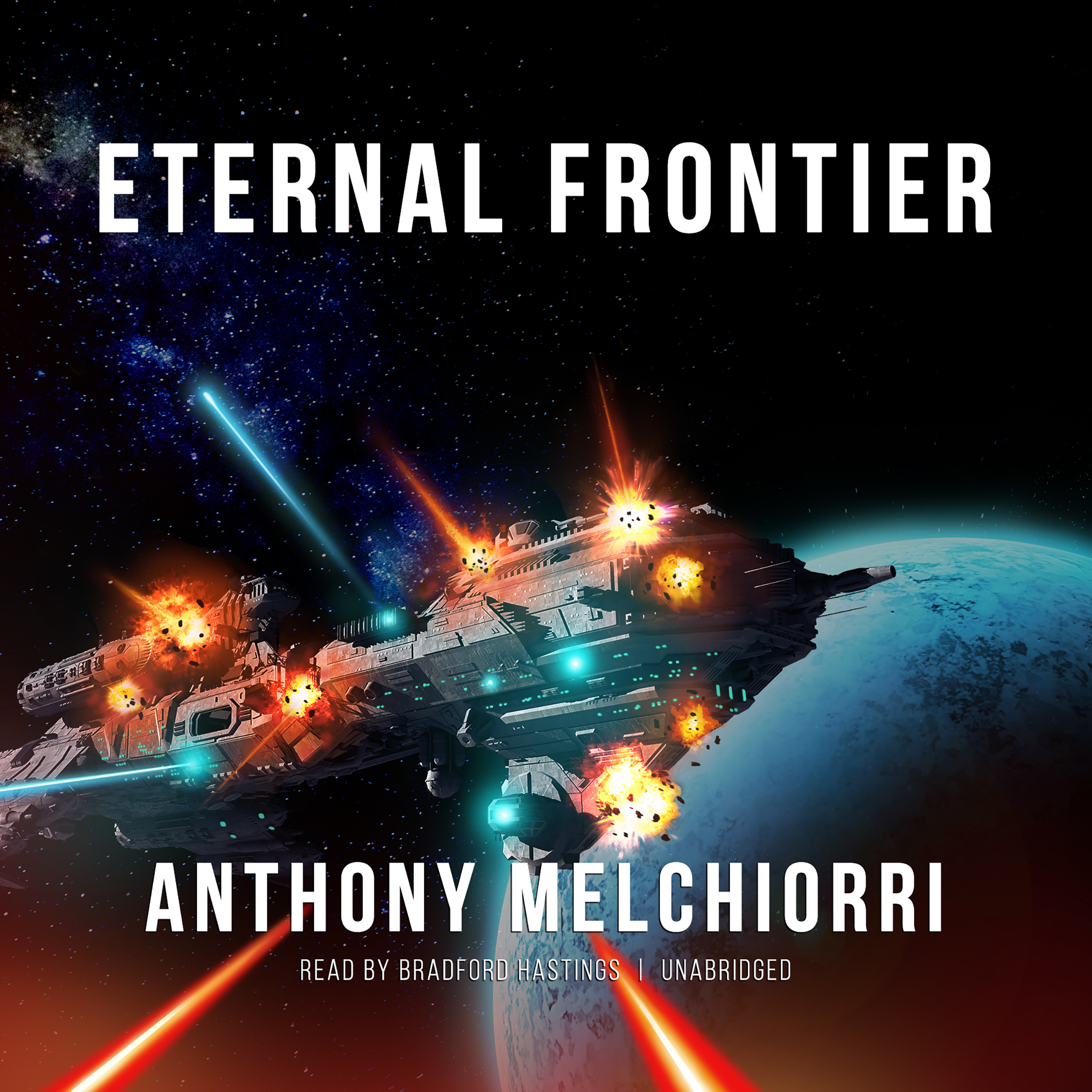Printable Eternal Frontier Audiobook Cover Art