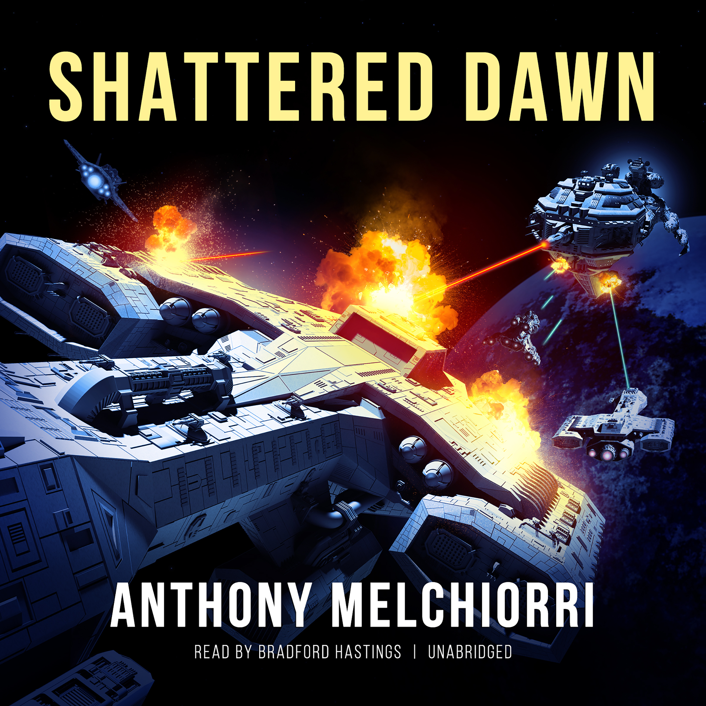 Printable Shattered Dawn Audiobook Cover Art