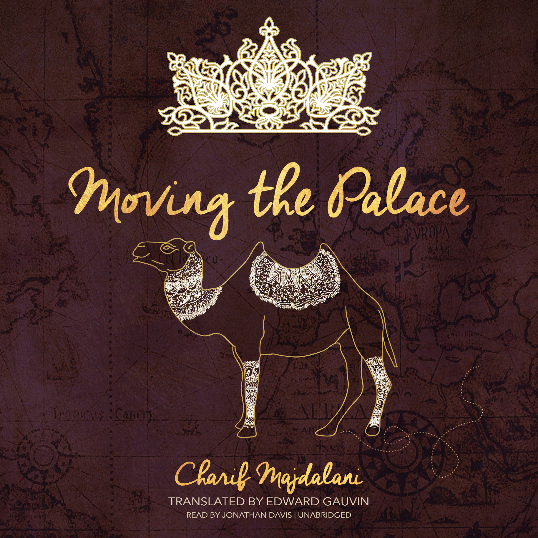 Printable Moving the Palace Audiobook Cover Art