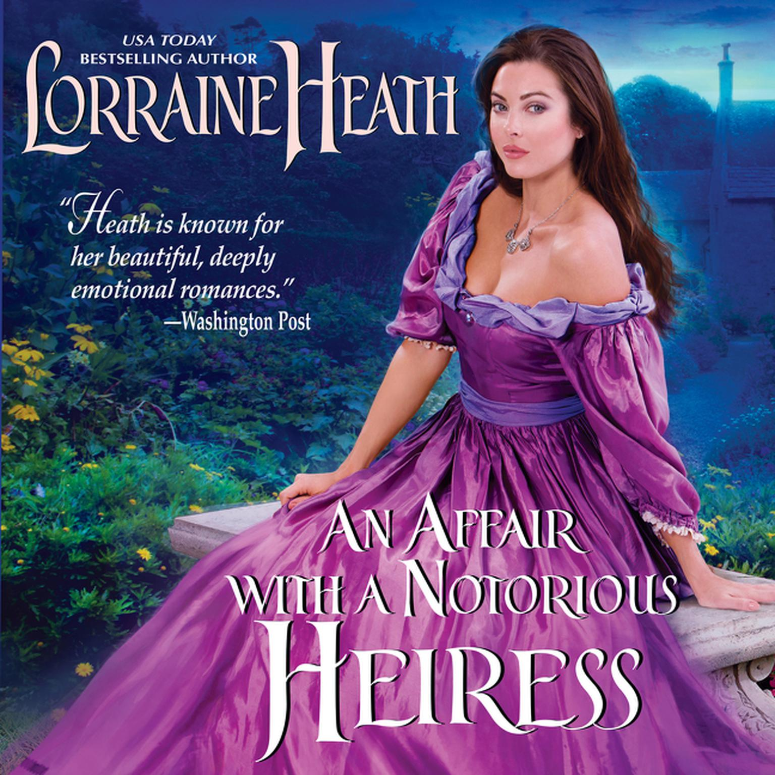 Printable An Affair with a Notorious Heiress Audiobook Cover Art